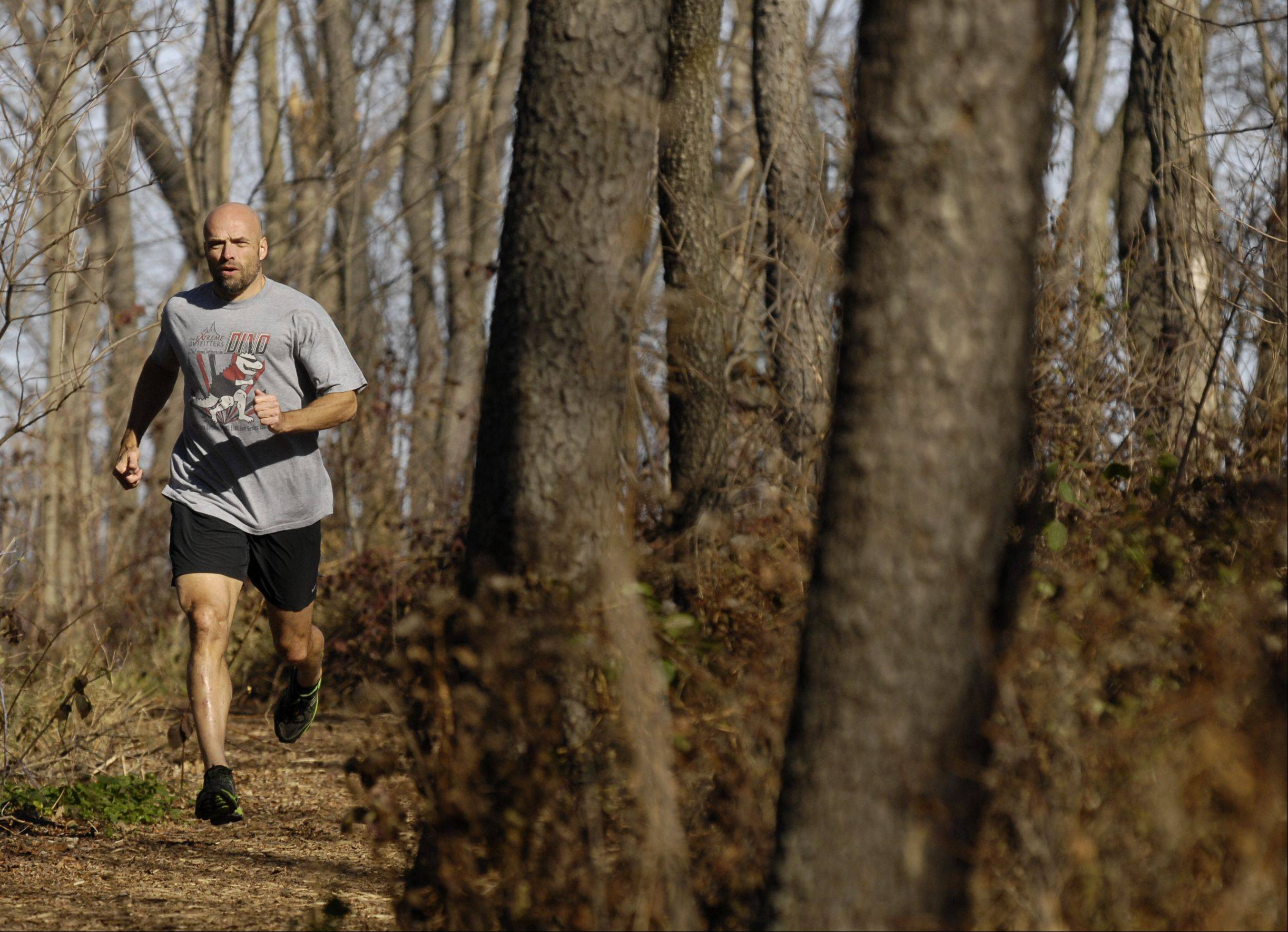 Mike DeMeritt of West Chicago, is a runner who competes each year in a 100-mile race in Wisconsin to raise money for DuPage PADS. DeMeritt sometimes trains at the Lincoln Marsh in Wheaton.