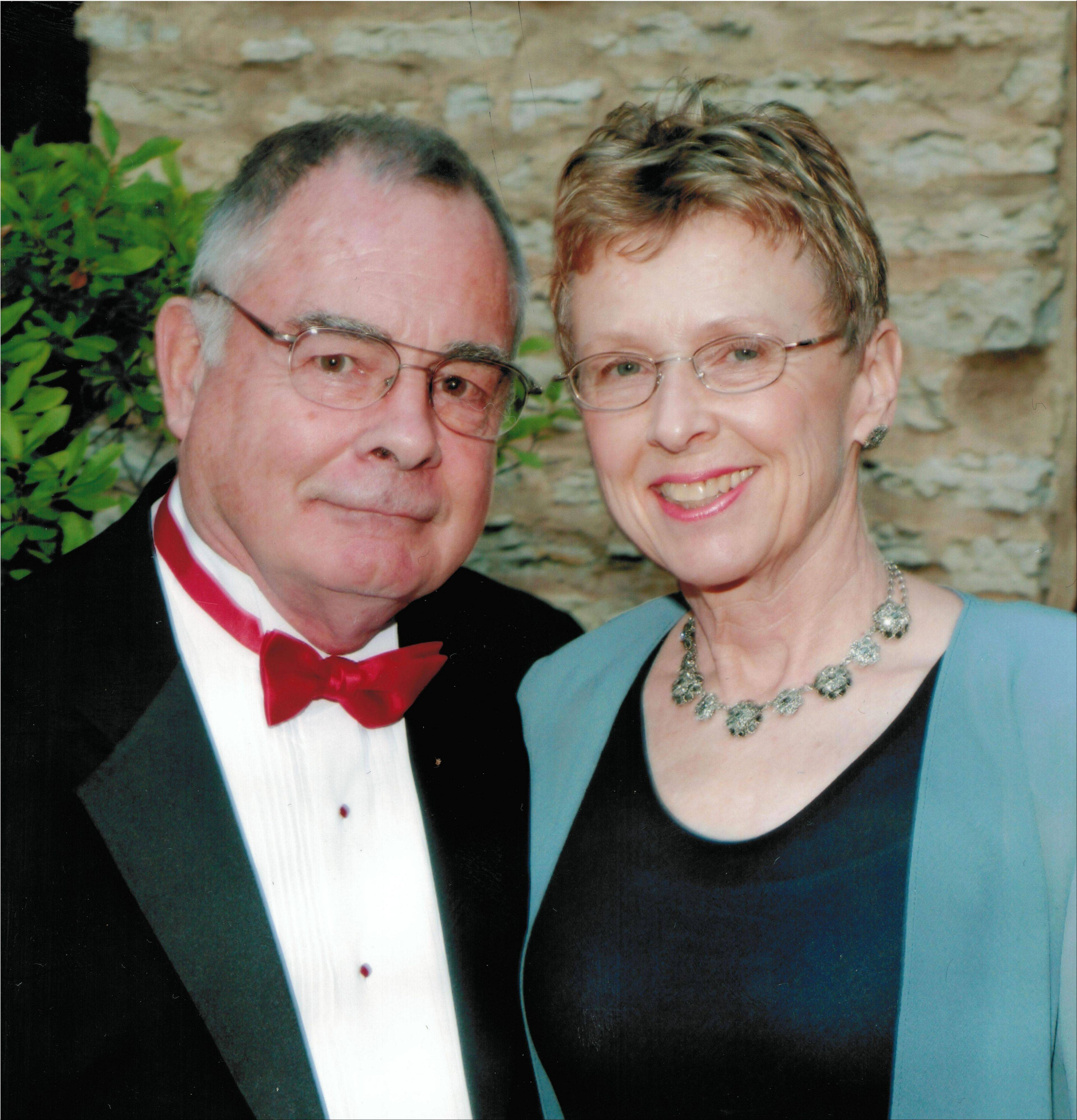 "John ""Jack"" Ryan, shown with his wife Martha, was a former Geneva alderman, firefighter and longtime community supporter. He died Thursday at 78."