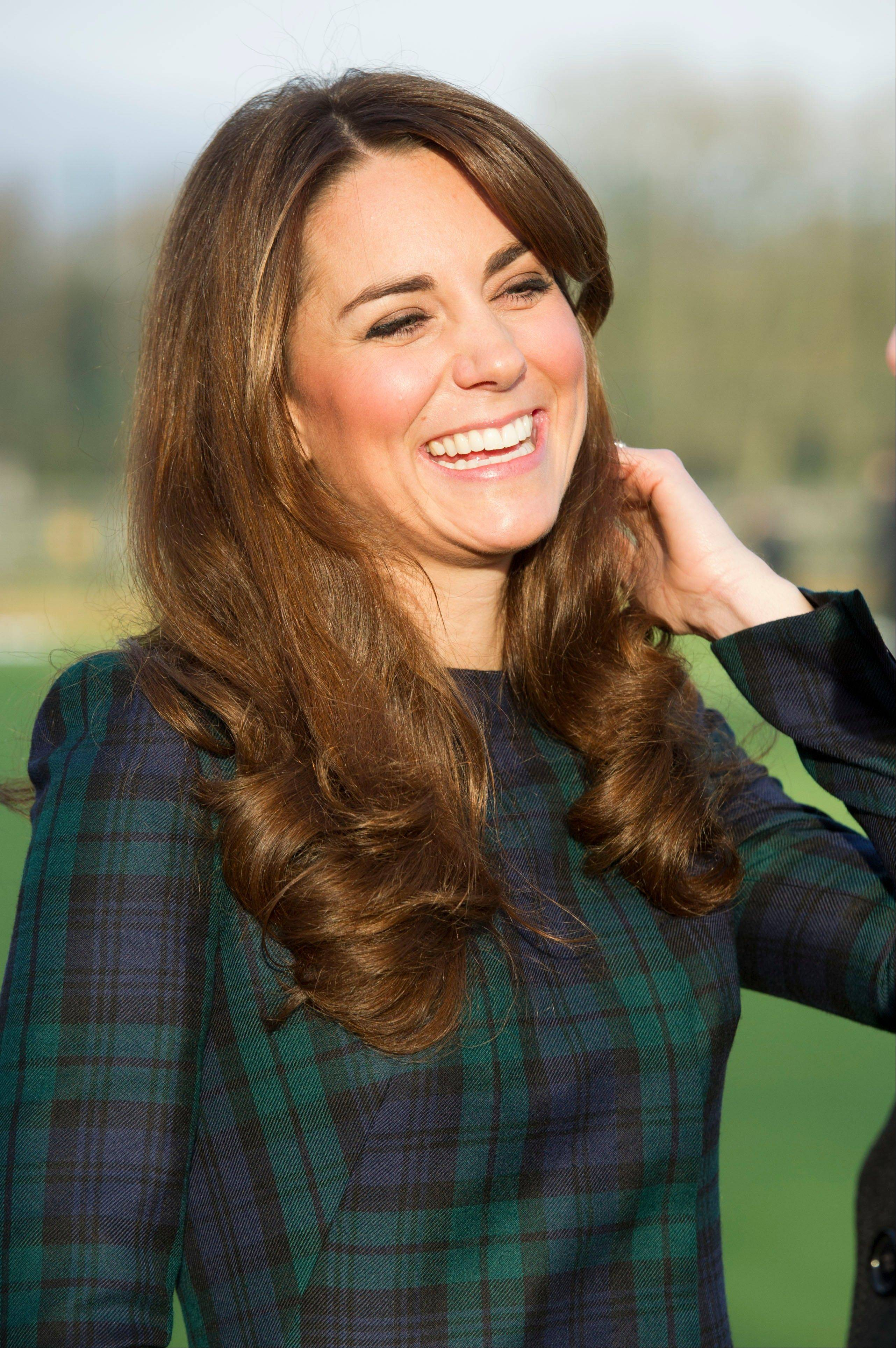 Kate, the Duchess of Cambridge, is expecting a baby, St James's Palace officially announced Monday.