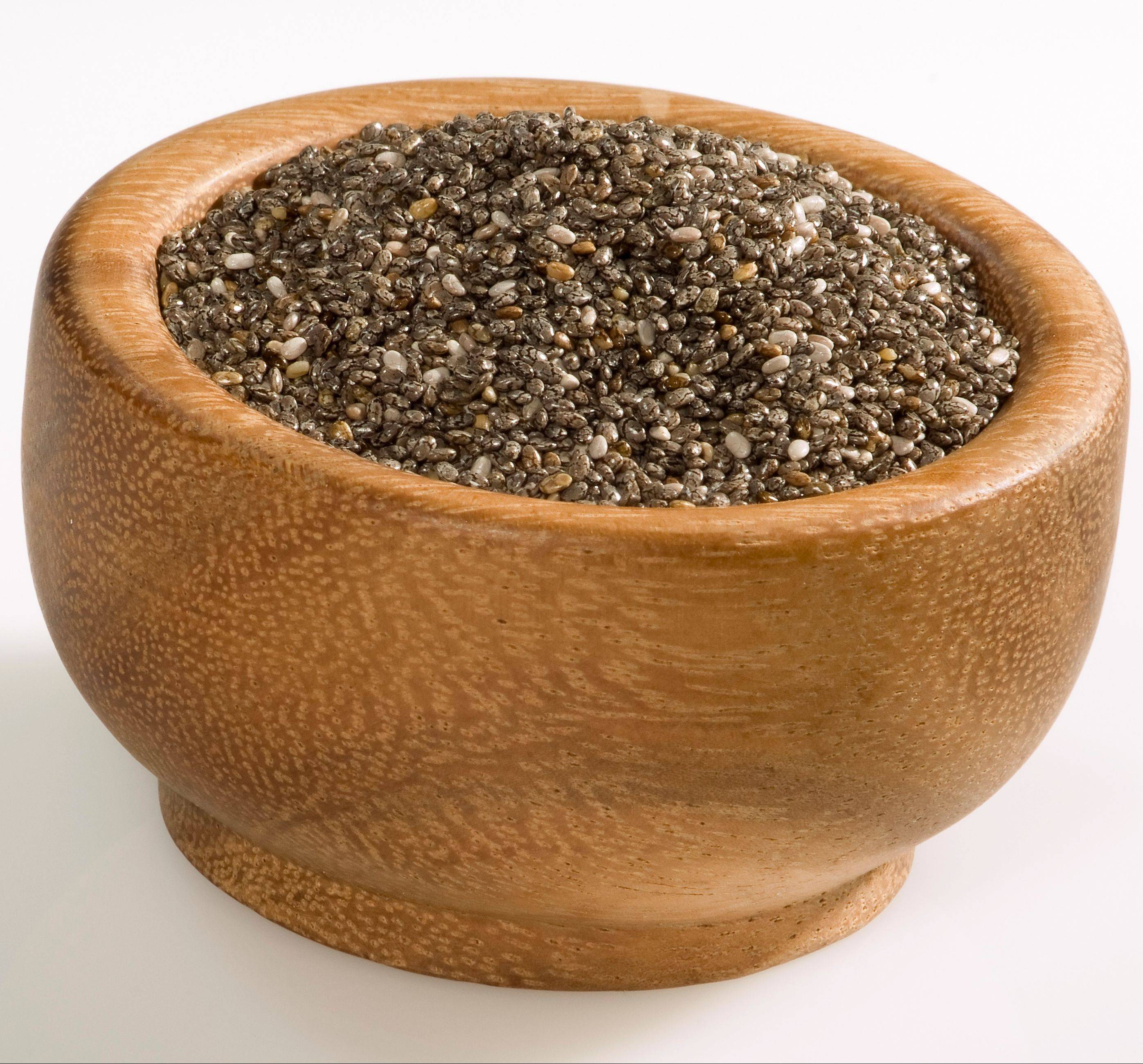 Chia seeds are a nutritional powerhouse, offering antioxidants, protein, fiber and omega-3s in a small package.