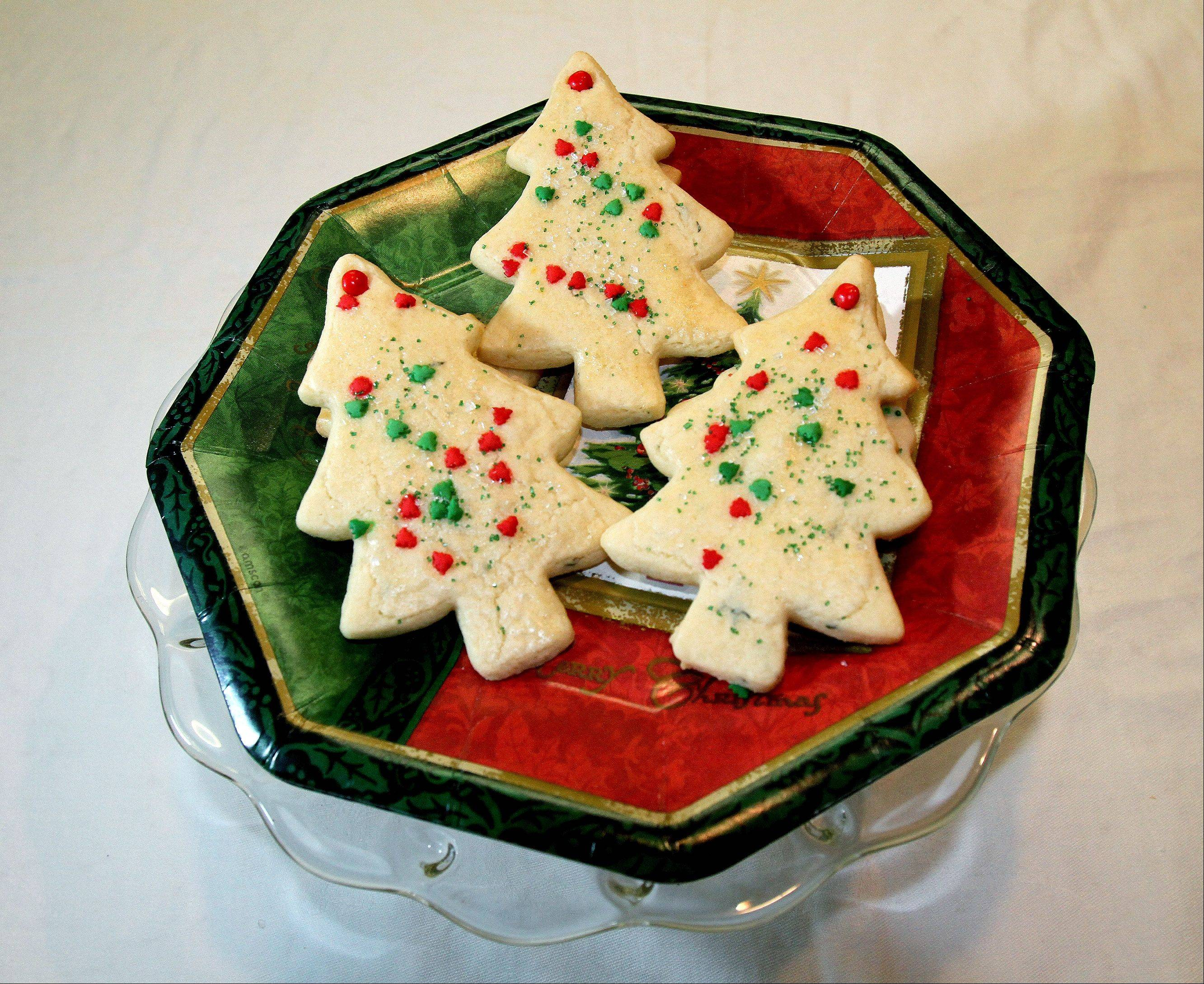 A touch of thyme adds unexpected richness to Annie Overboe's holiday cookies.