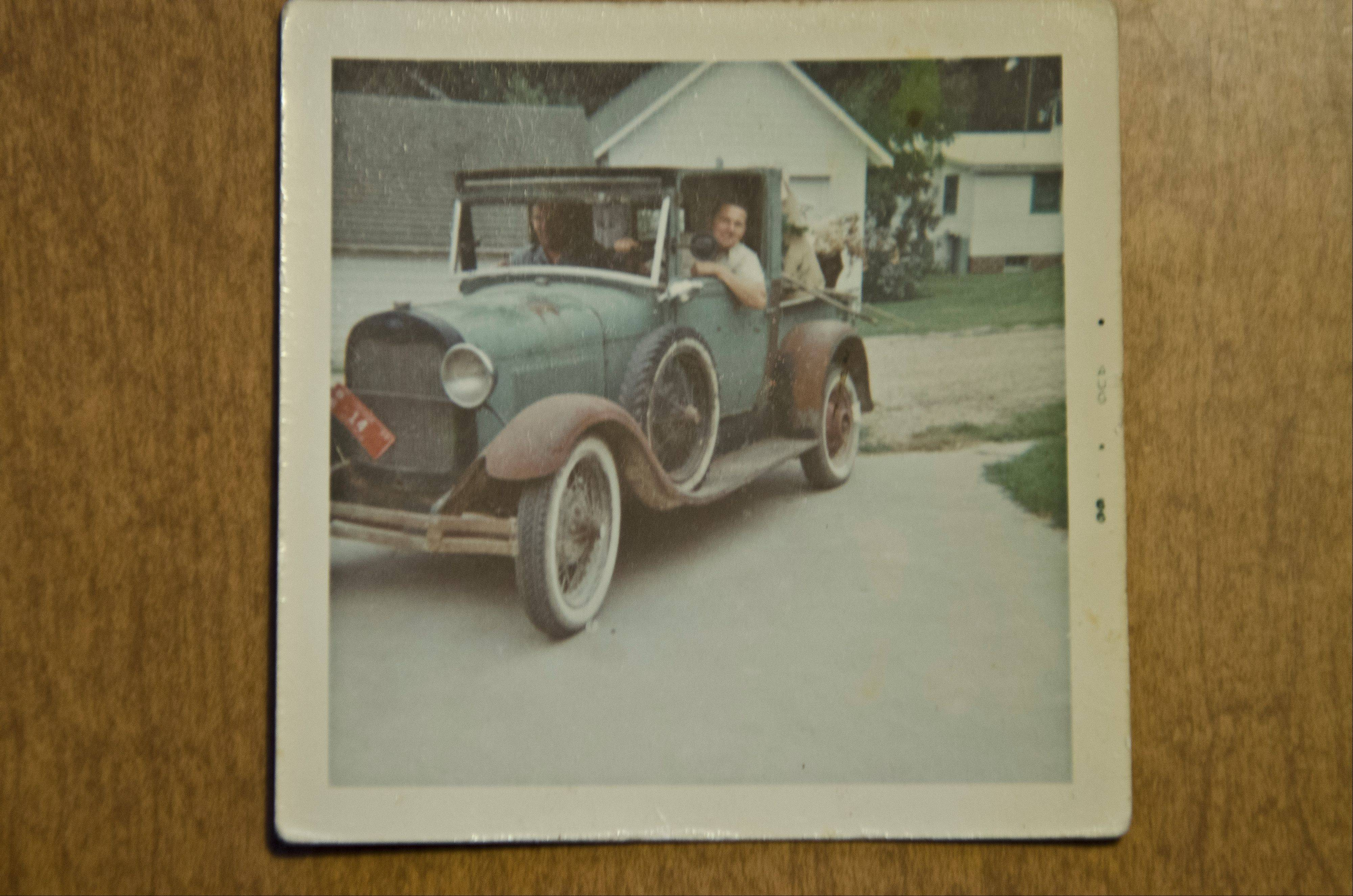 A doctor in Iowa owned the 1928 pickup when Mike Podgorski first spotted it in 1965.