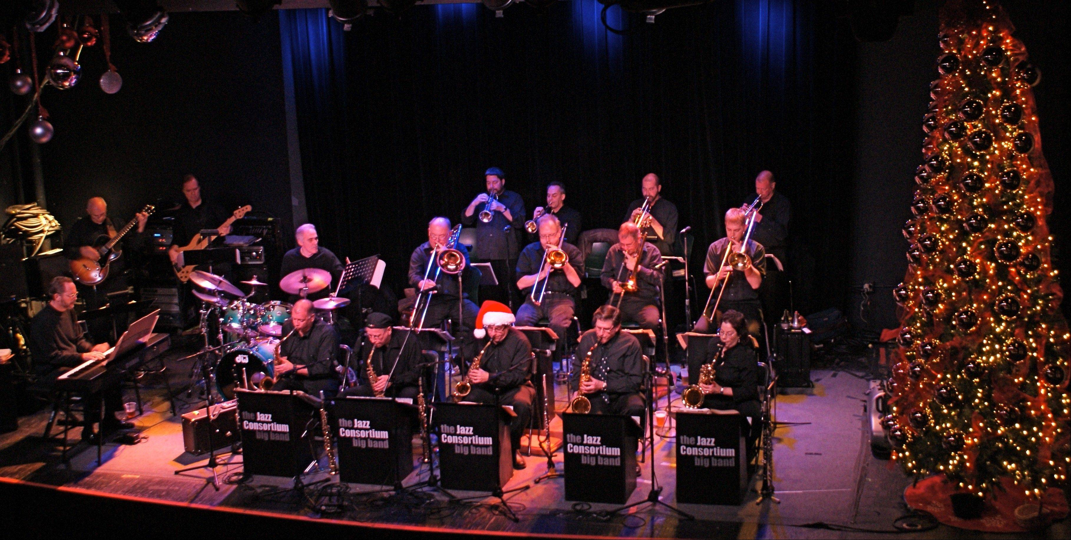 The Jazz Consortium Big Band is holding a food drive to benefit the Palatine Township Food Pantry in conjunction with is Sunday, Dec. 9, performance at Durty Nellie's Pub in Palatine.