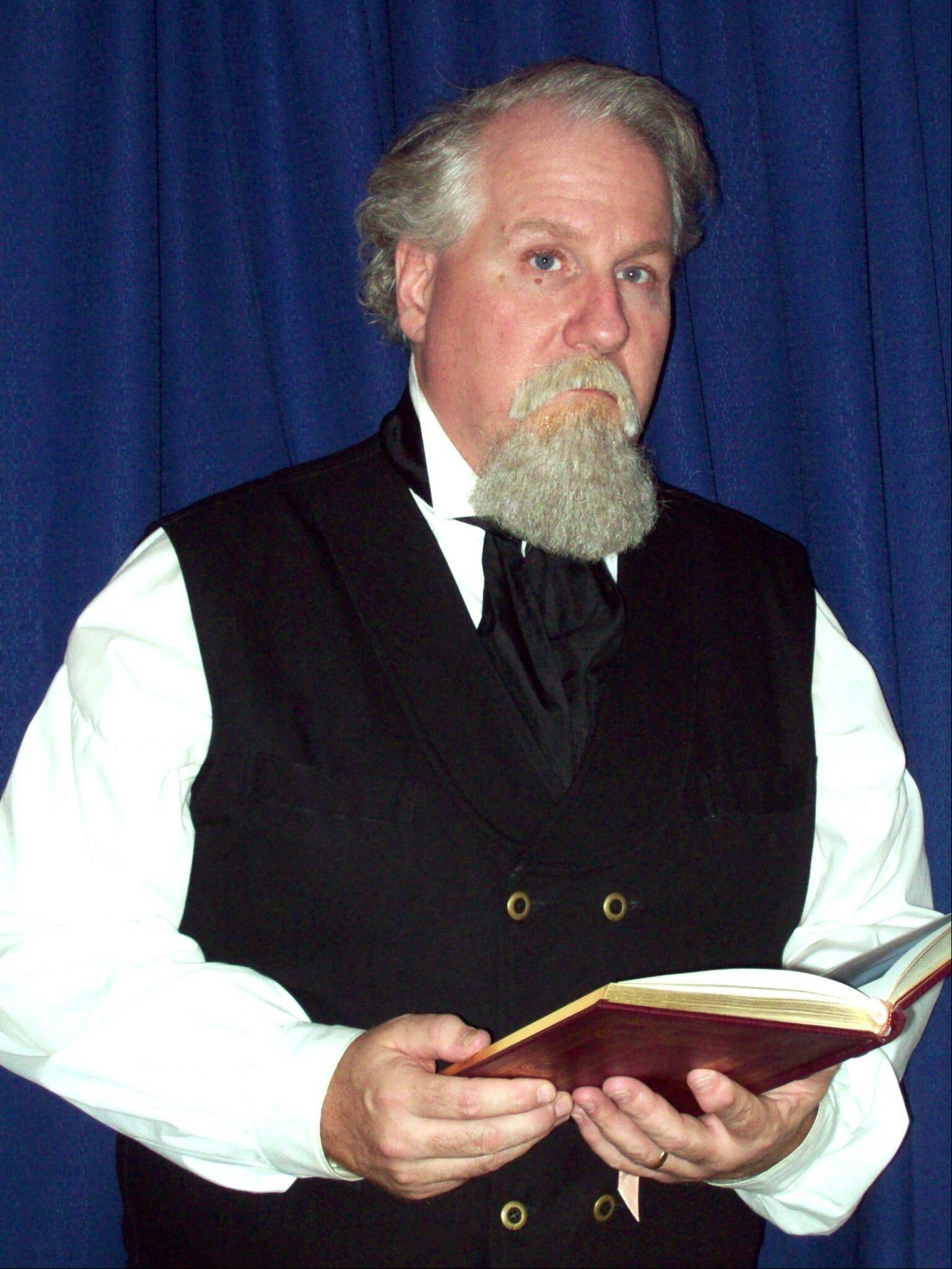 Actor Terry Lynch brings Charles Dickens' Christmas tales to life Dec. 9 at the Elmhurst Historical Museum Education Center.