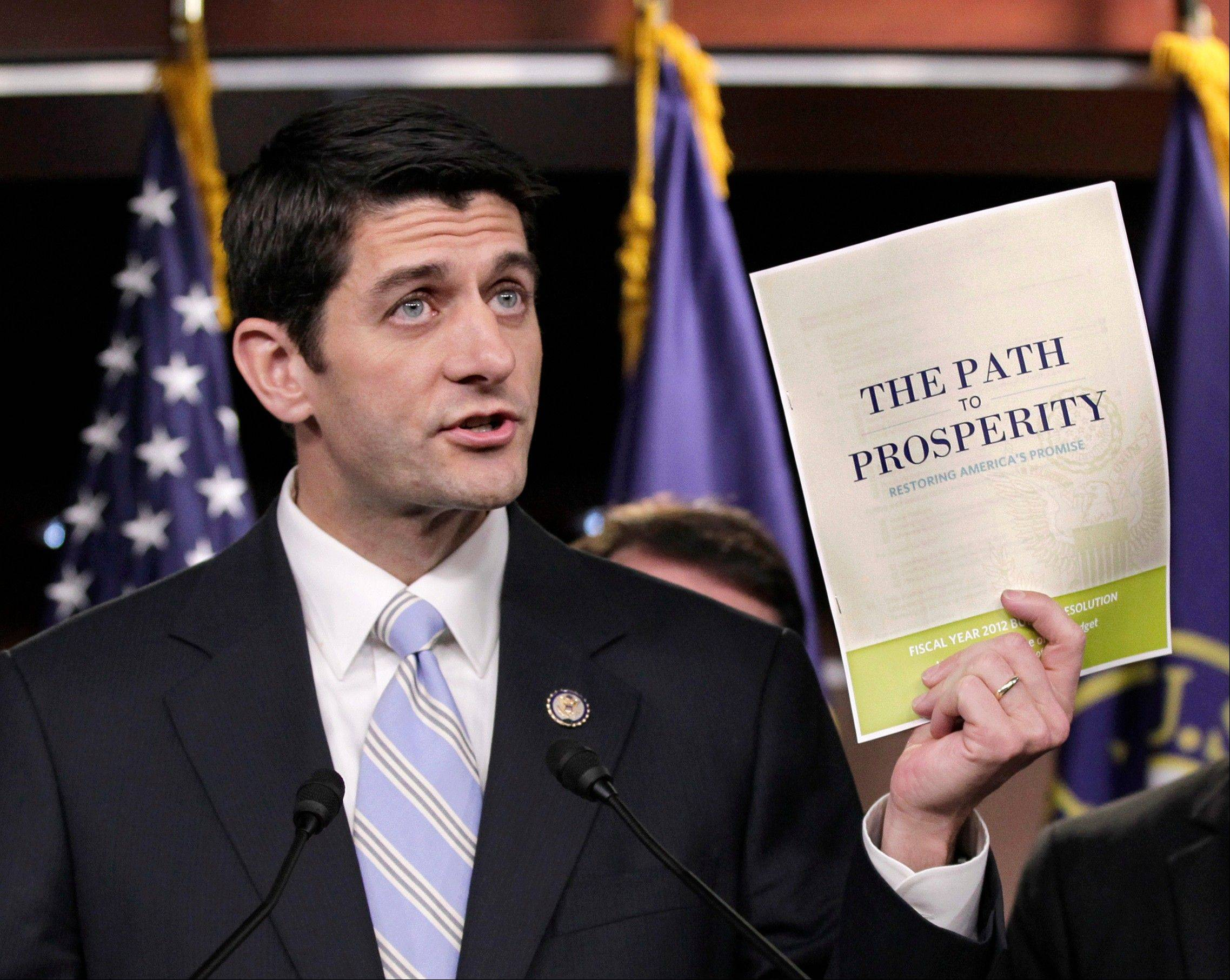 Back to budgets, Ryan returns to comfortable topic