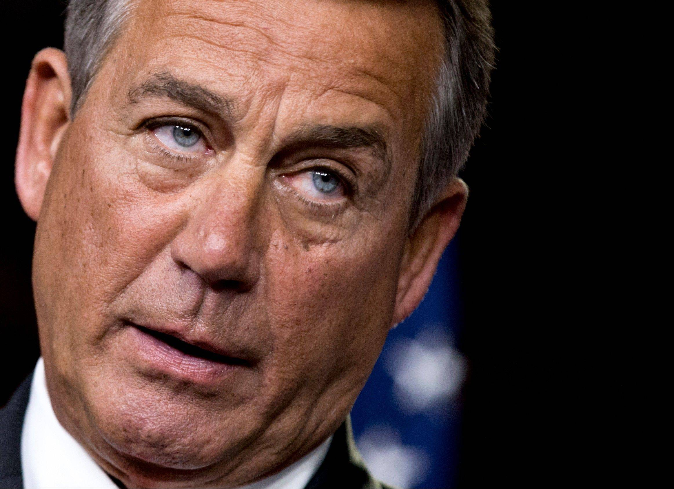 House Speaker John Boehner has taken plum committee assignments away from four conservative Republican lawmakers after they bucked party leaders on key votes.
