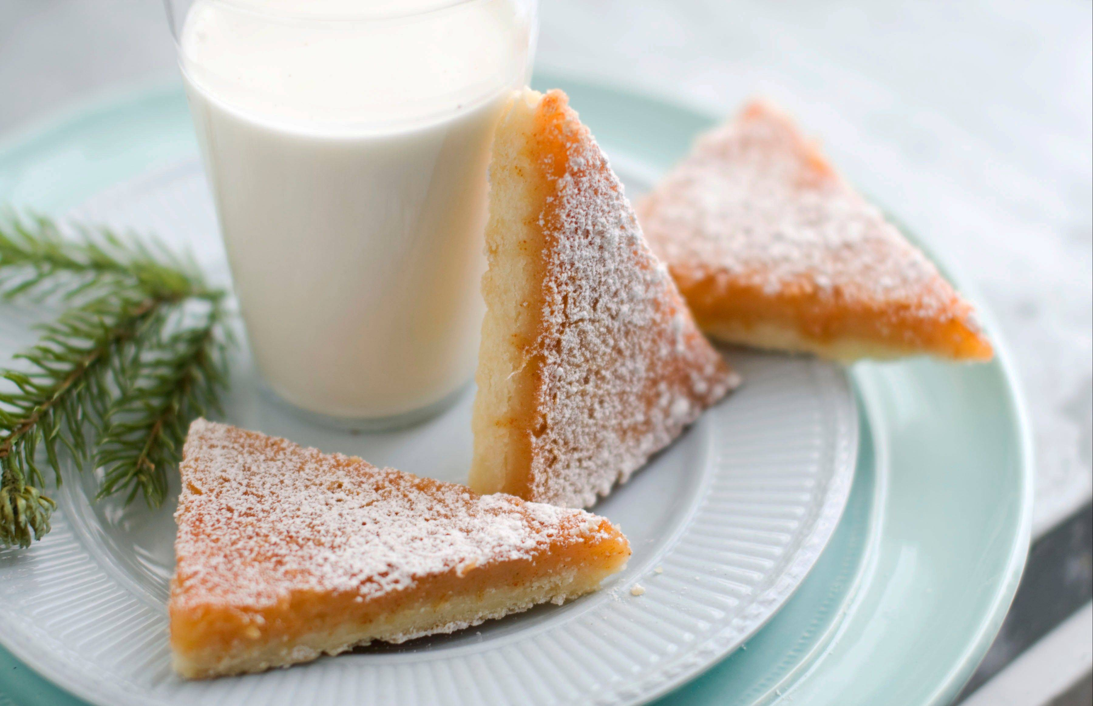 Paprika puts a fresh take on classic lemon bars.