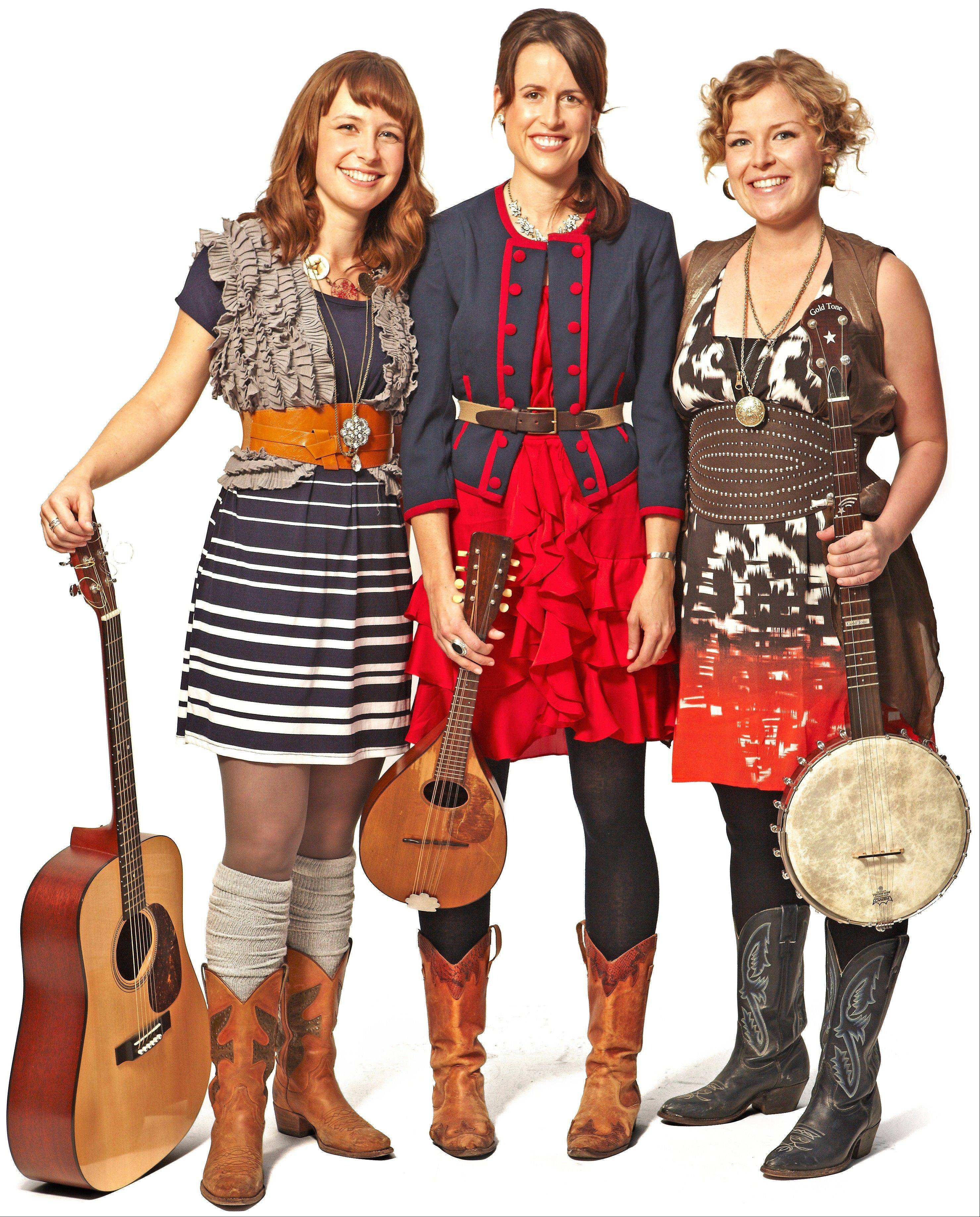 Canadian folk trio The Good Lovelies appear at Ramsey Auditorium in Wilson Hall at the Fermi National Accelerator Laboratory in Batavia on Saturday, Dec. 8.