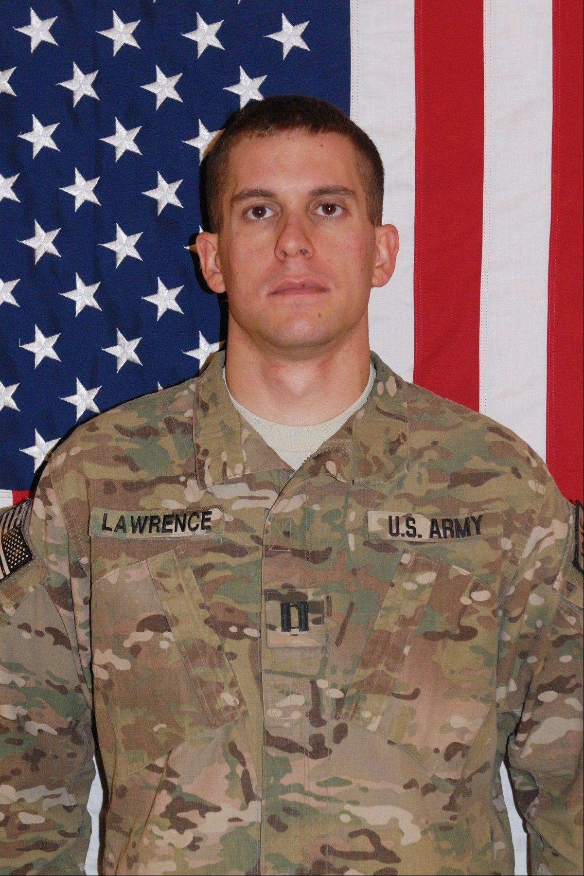 U.S. Army Capt. Joshua Lawrence was killed in October 2011 in Afghanistan.