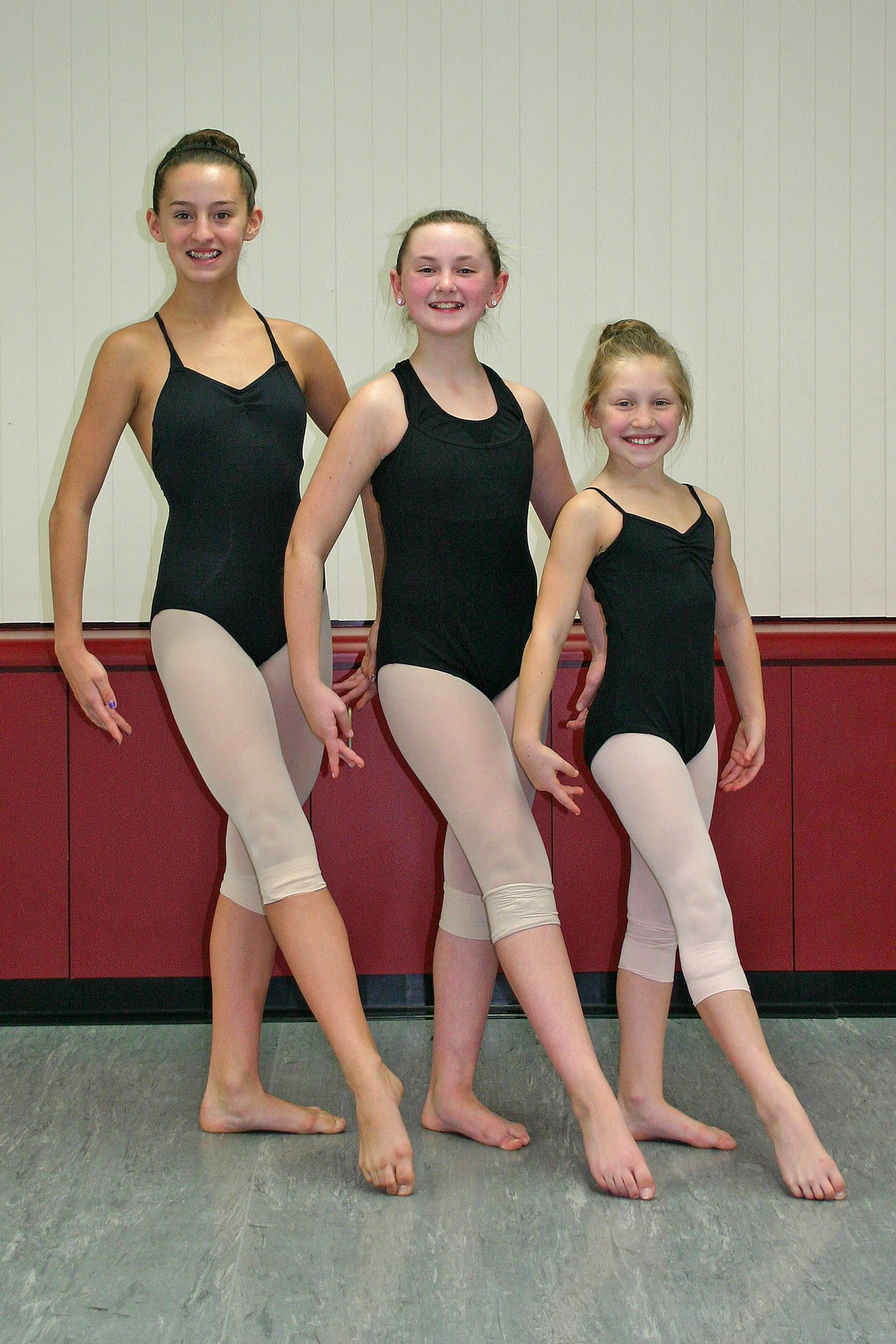 Left to Right: Meghan Hanrahan, Kim Fairhead, and Jordin Suwalski, representing Artistry in Motion, won top awards at the November 9-11 24Seven Dance Competition.