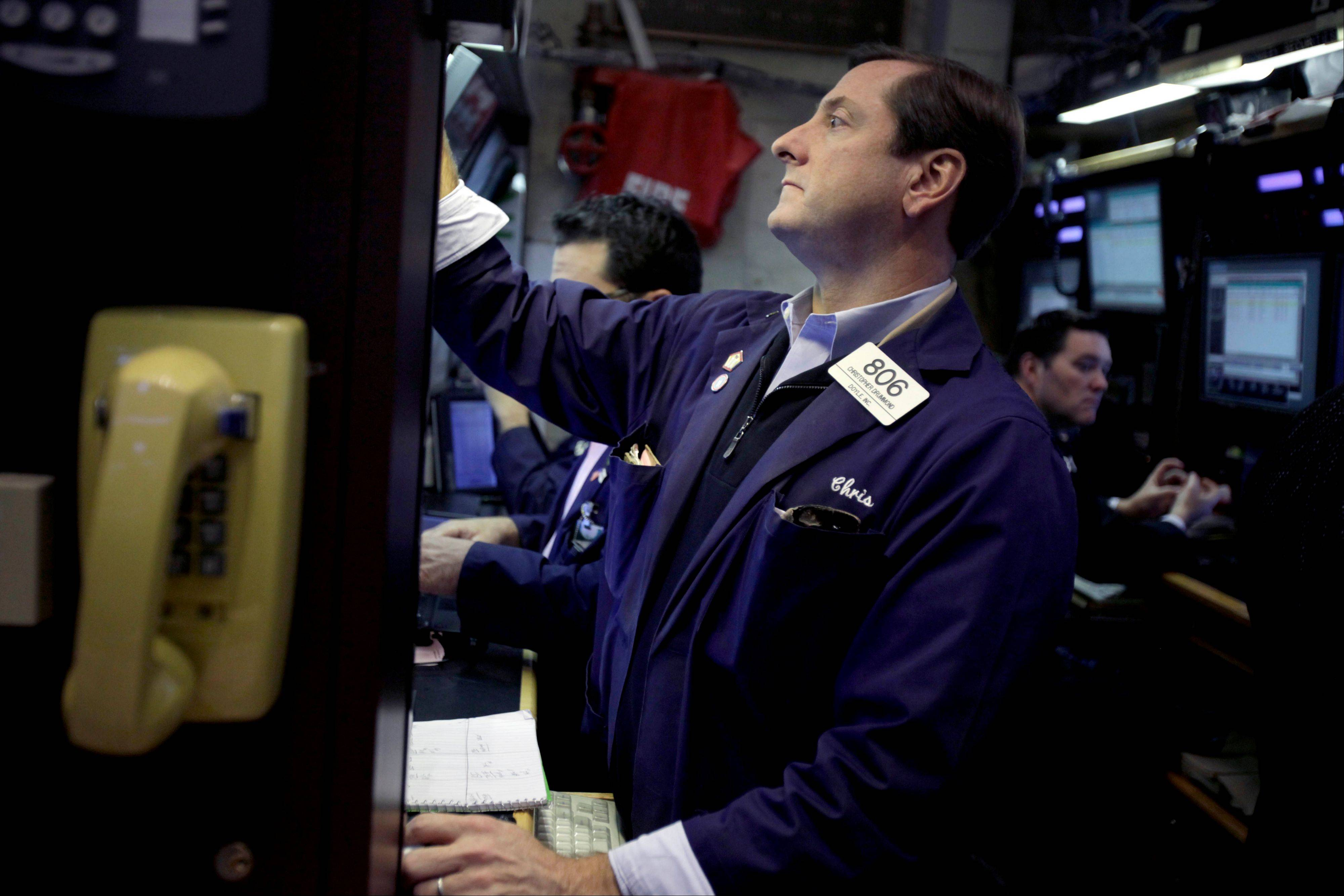 U.S. stocks advanced, following a two-day decline in the Standard & Poor�s 500 Index, amid optimism lawmakers will reach a budget agreement before the end of the year and after economic data topped estimates.
