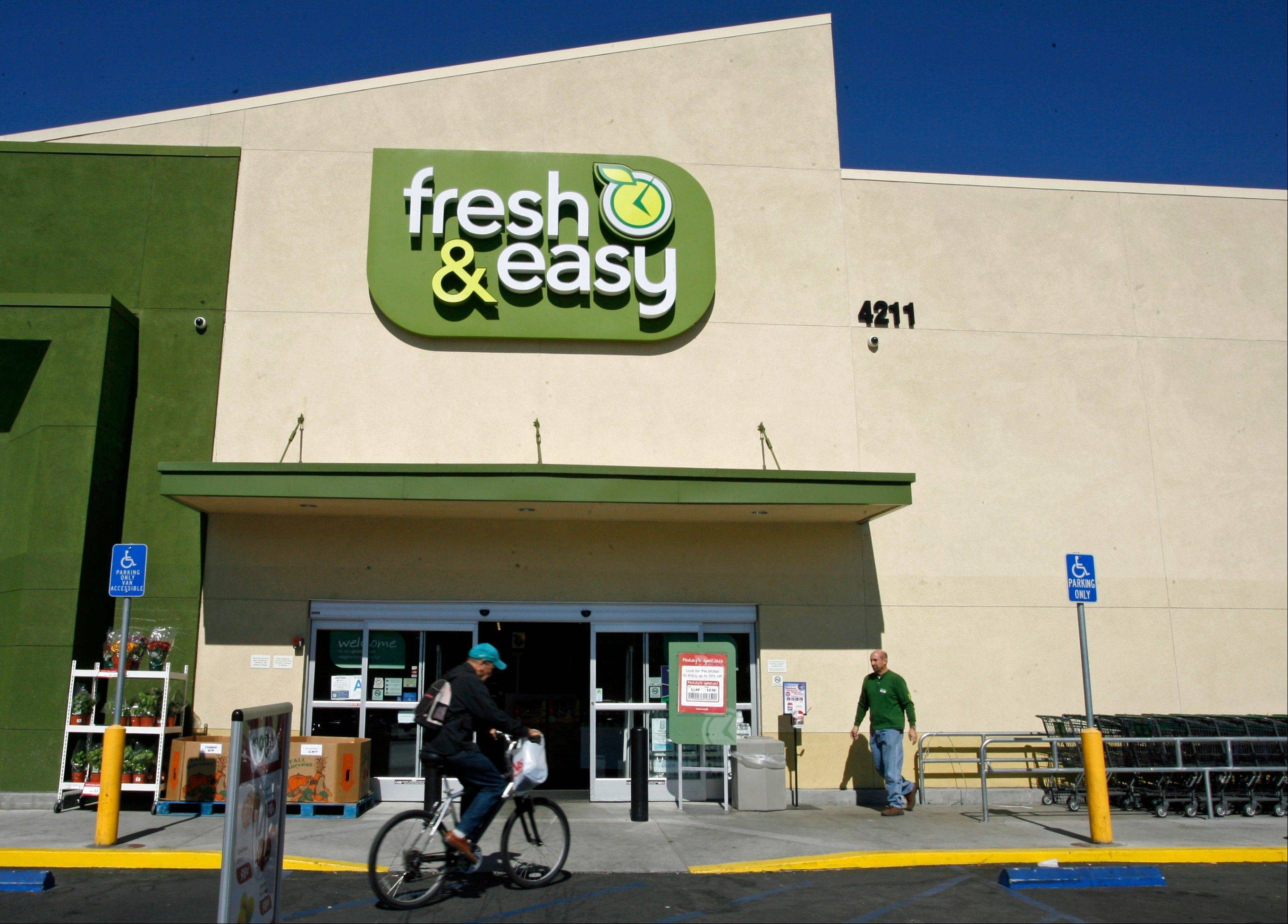 Tesco, Britain�s biggest retailer, is reviewing options for its slow-growing U.S. venture, Fresh & Easy. The company also announced Wednesday that the chief executive of Fresh & Easy, Tim Mason, is leaving.