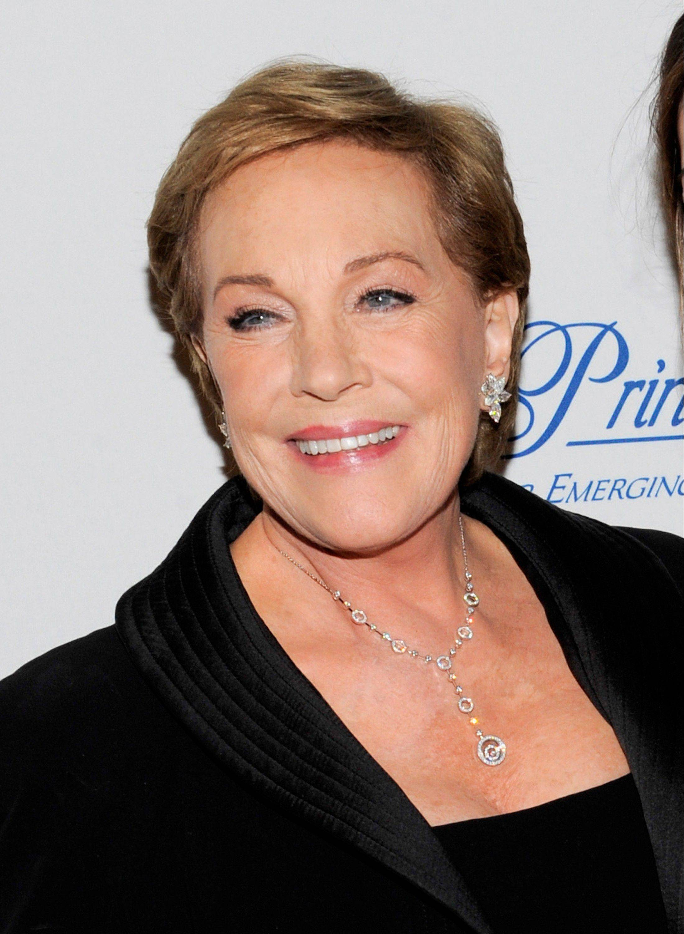 Oscar and Tony Award-winning actress Julie Andrews said that a botched operation to remove noncancerous throat nodules in 1997 hasn't gotten better. It has permanently limited her vocal range and her ability to hold notes.