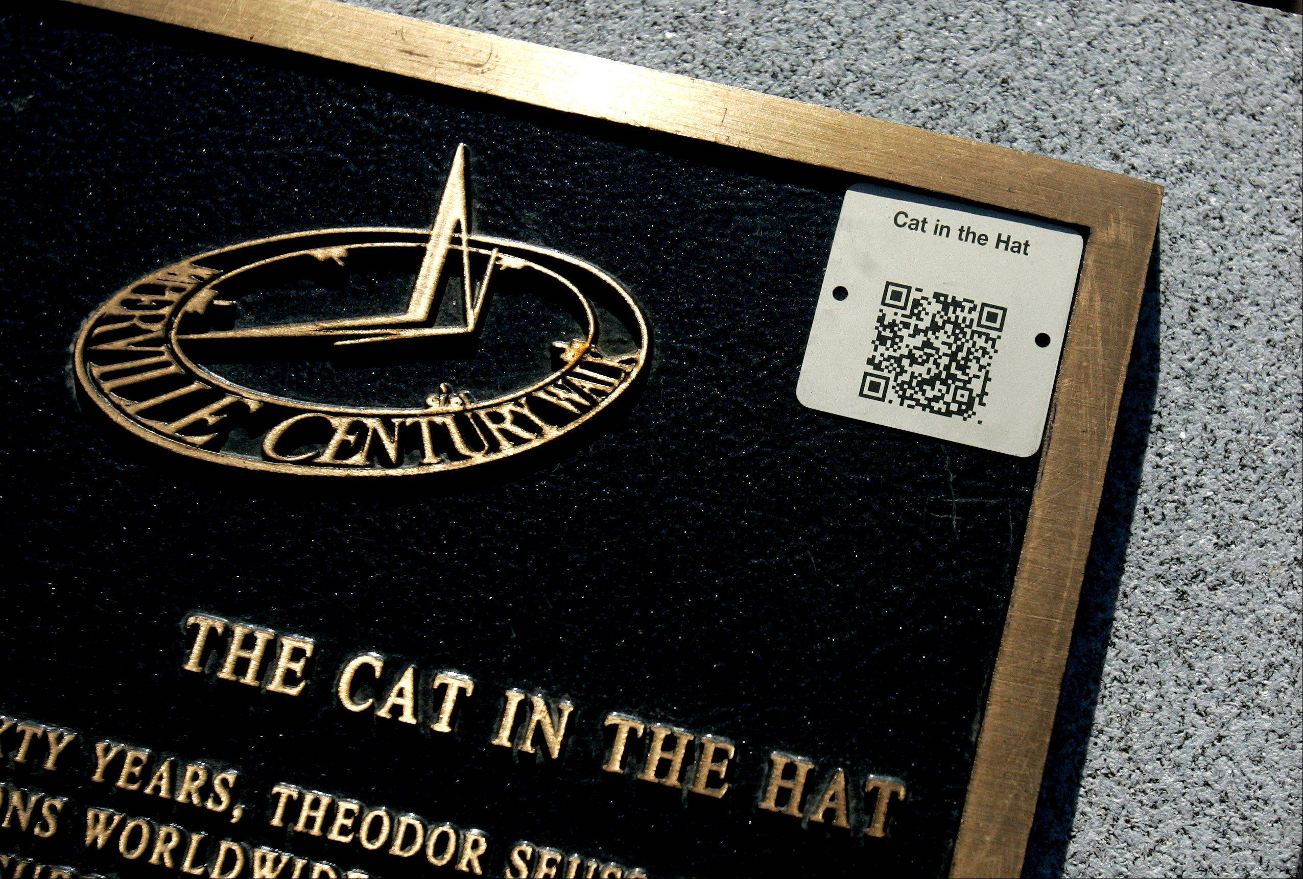 "Need to know more about ""The Cat in the Hat?"" Take your phone and scan the code."