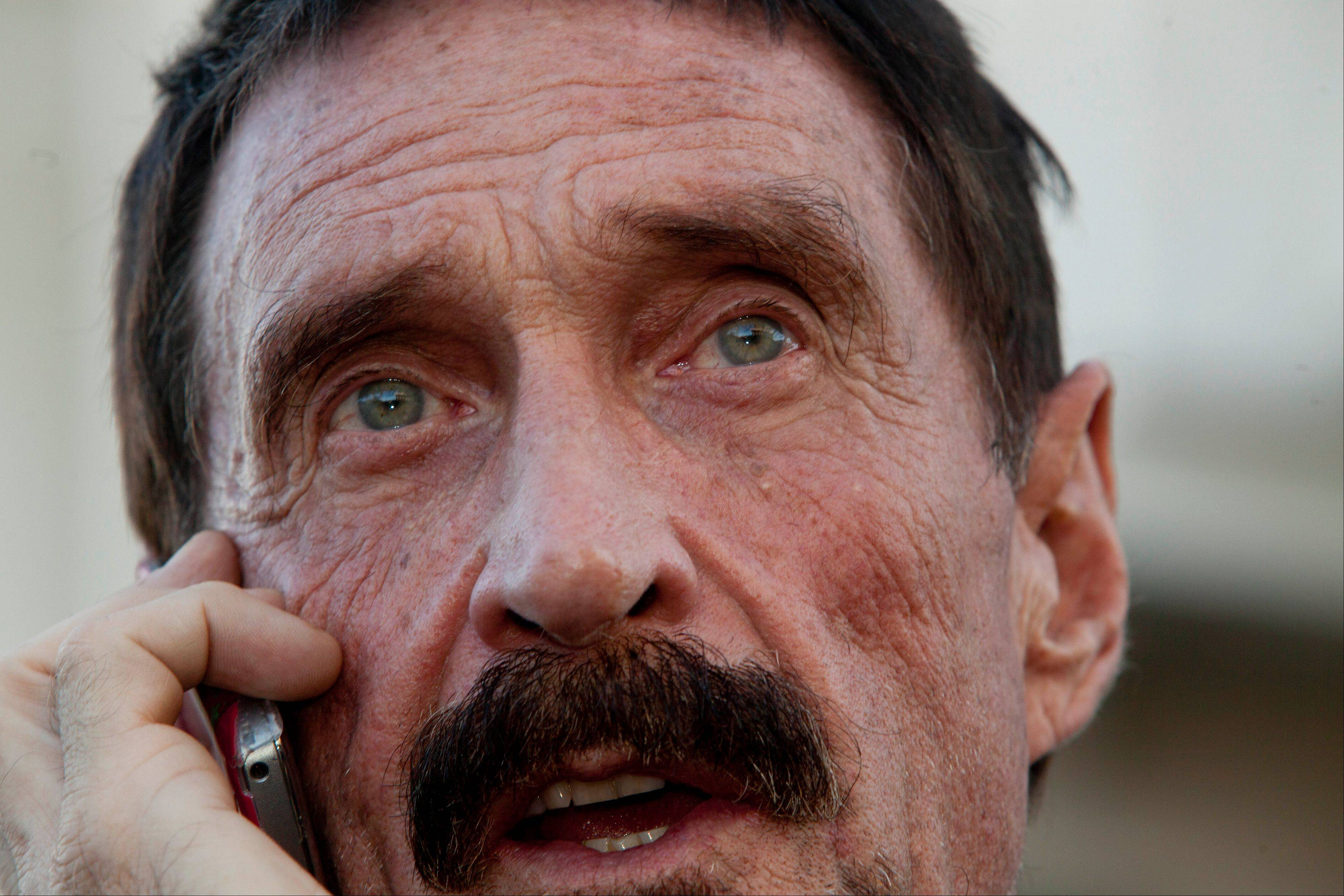 A lawyer for software company founder John McAfee says he has been denied political asylum in Guatemala, paving the way for his deportation to Belize.
