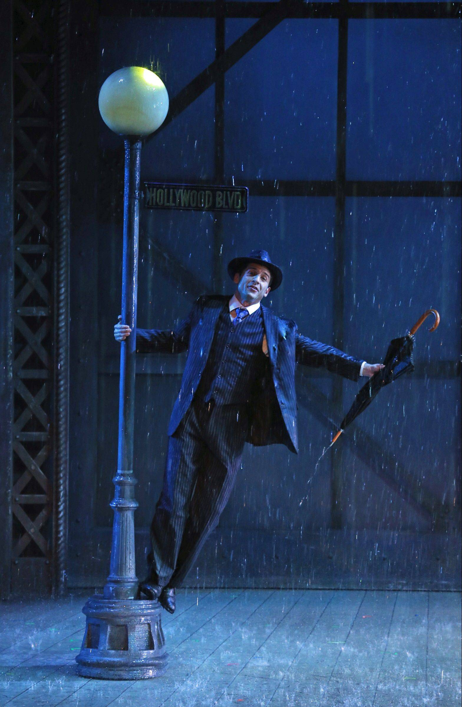 "Broadway veteran Tony Yazbeck stars as Don Lockwood, a silent film star making the transition to ""talkies"" in Drury Lane Theatre Oak Brook's ""Singin' in the Rain."""
