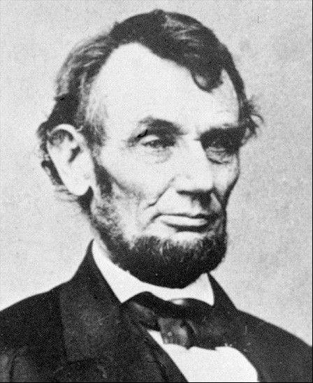 Abraham Lincoln in 1864.
