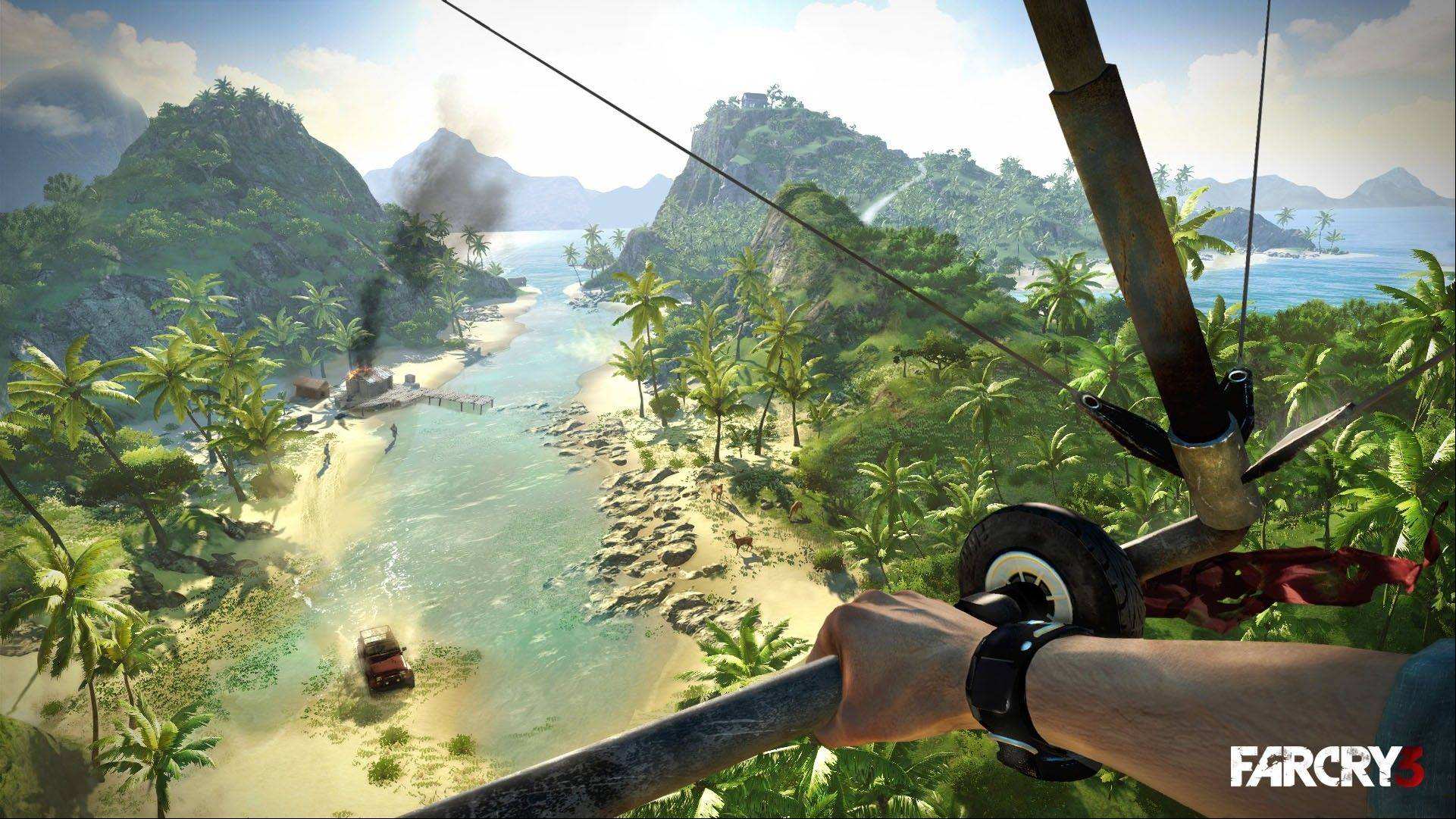 "There's never a dull moment in the excellent open-world first-person shooter ""Far Cry 3."""