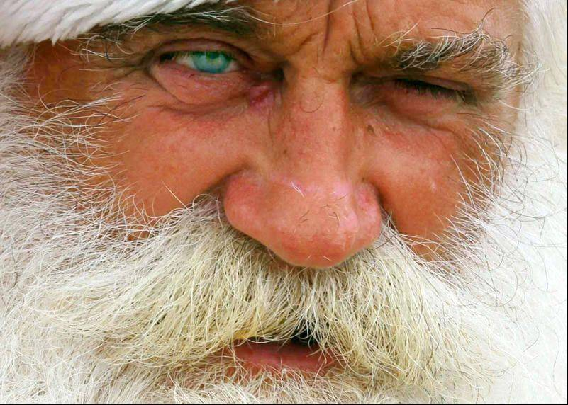 Nope, this isn�t a picture of Santa Claus. It�s actually a resident of Zadar, Croatia, whom Roger Sudnick of West Chicago happened upon while on a recent vacation with his wife and friends.