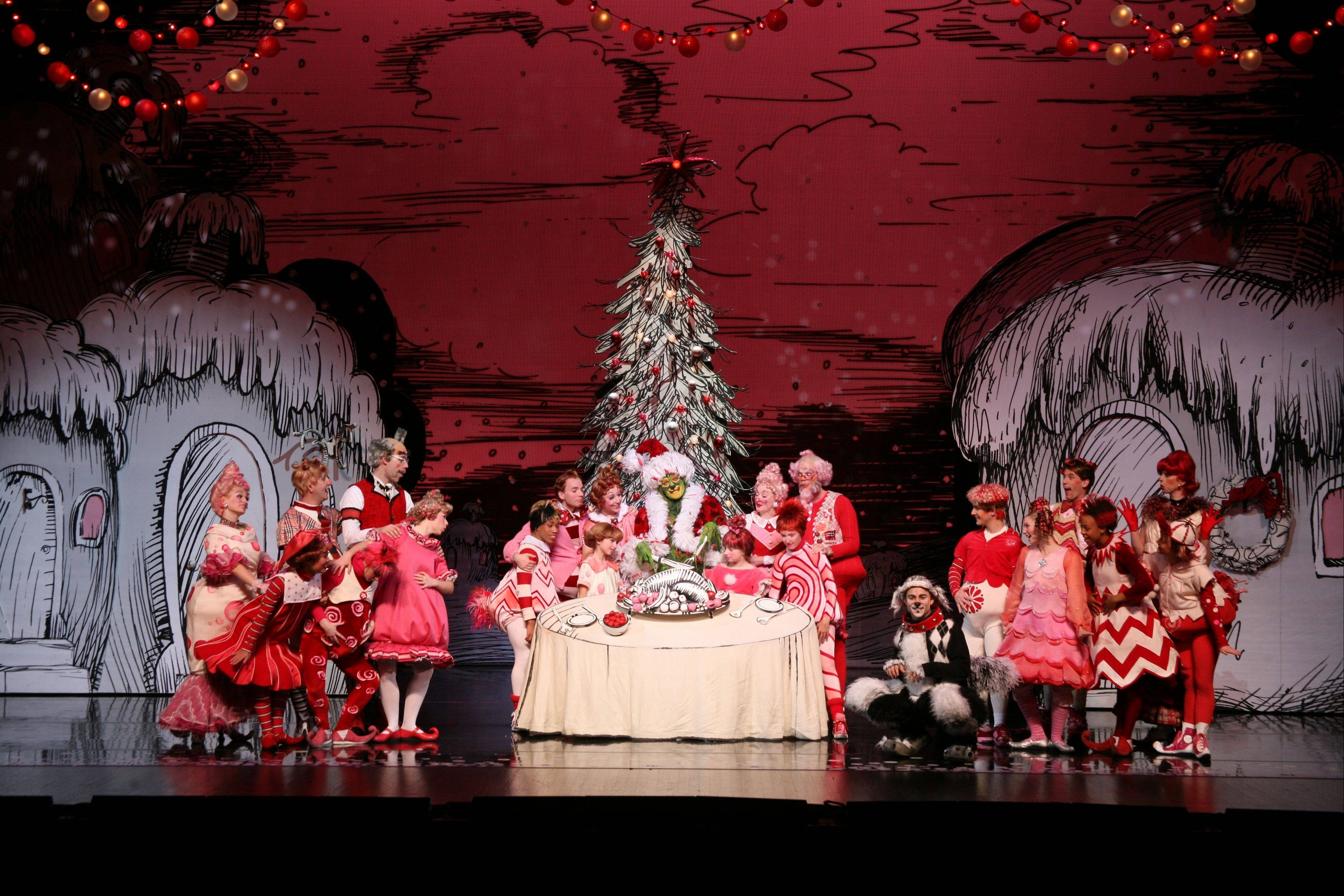 "Bright, boisterous and ebullient, Broadway in Chicago's ""Dr. Seuss' How the Grinch Stole Christmas! The Musical"" has everything a child could want."