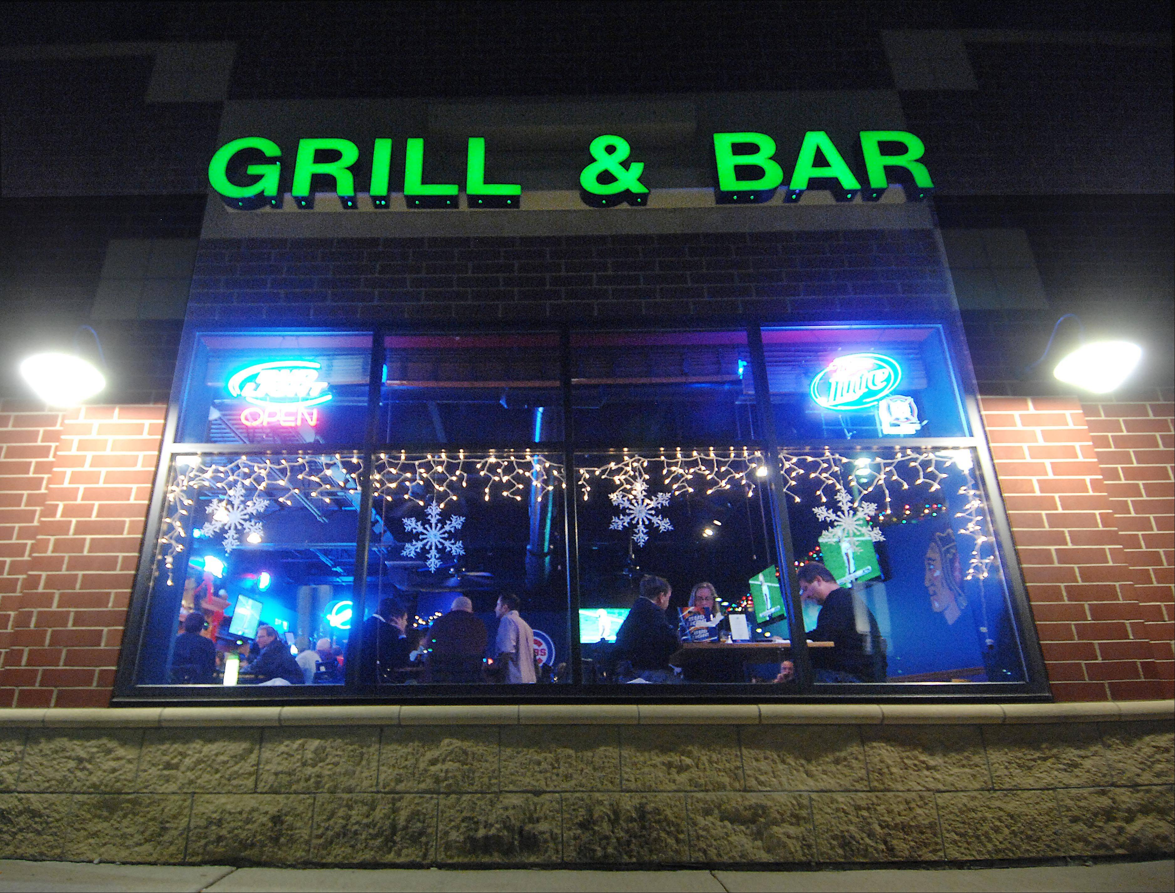 The Chubby Bullfrog in West Dundee is a place to catch a game and enjoy a drink or meal.