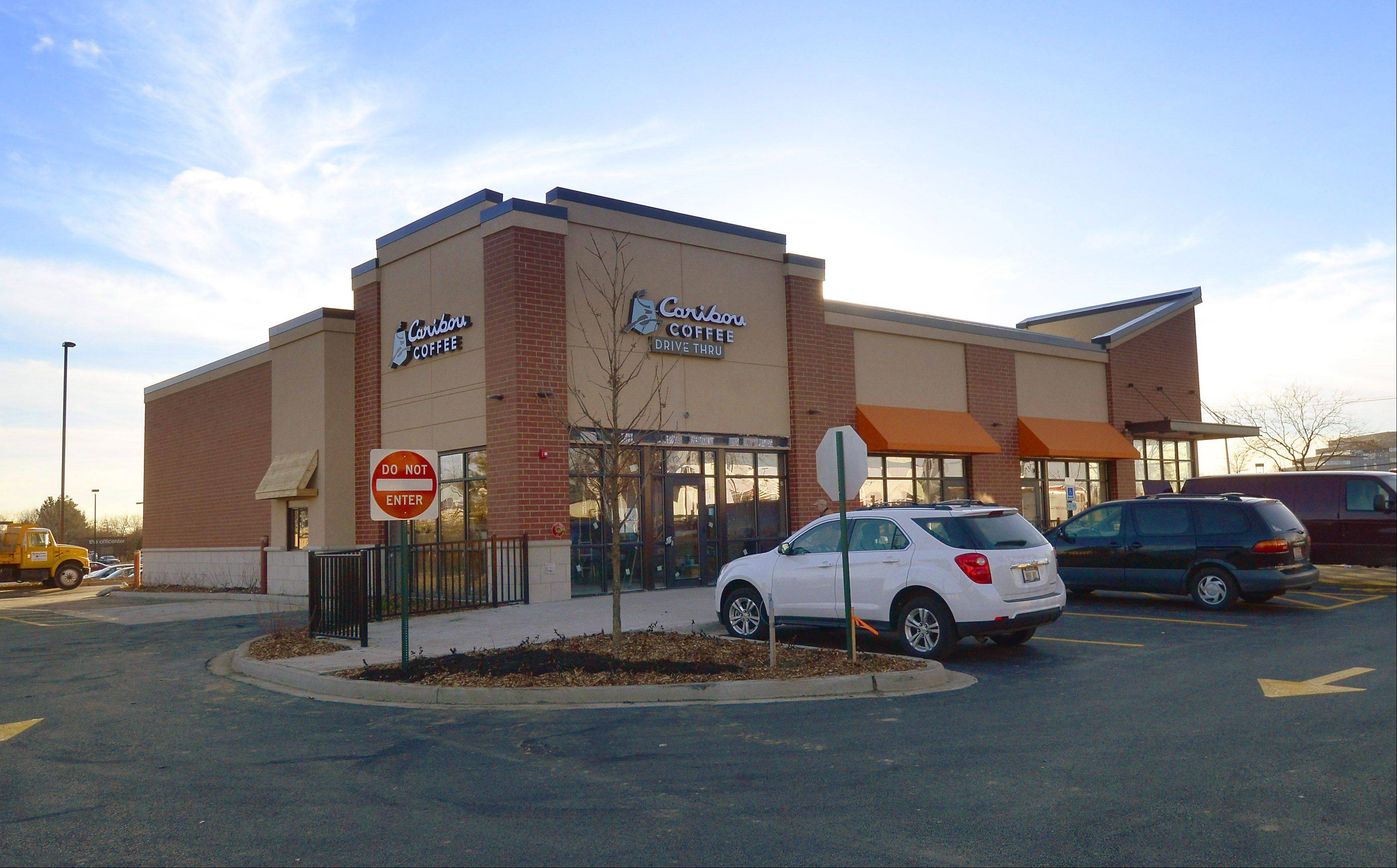 Caribou Coffee is one of the tenants in the new building at the former Le Titi de Paris restaurant location in Arlington Heights. The site also will feature a Supercuts and Qdoba Mexican Grill.