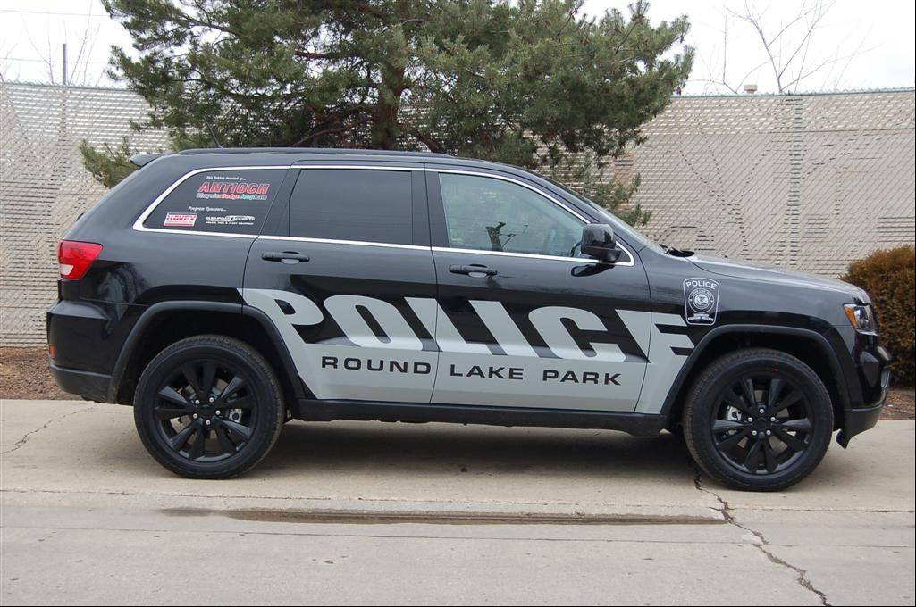 Antioch Chrysler Dodge Jeep Ram donated this vehicle to Round Lake Park police for use on patrols and for crime-prevention duties. Police said the Jeep is worth $48,000 and will be returned to the dealership after about 5,000 miles.
