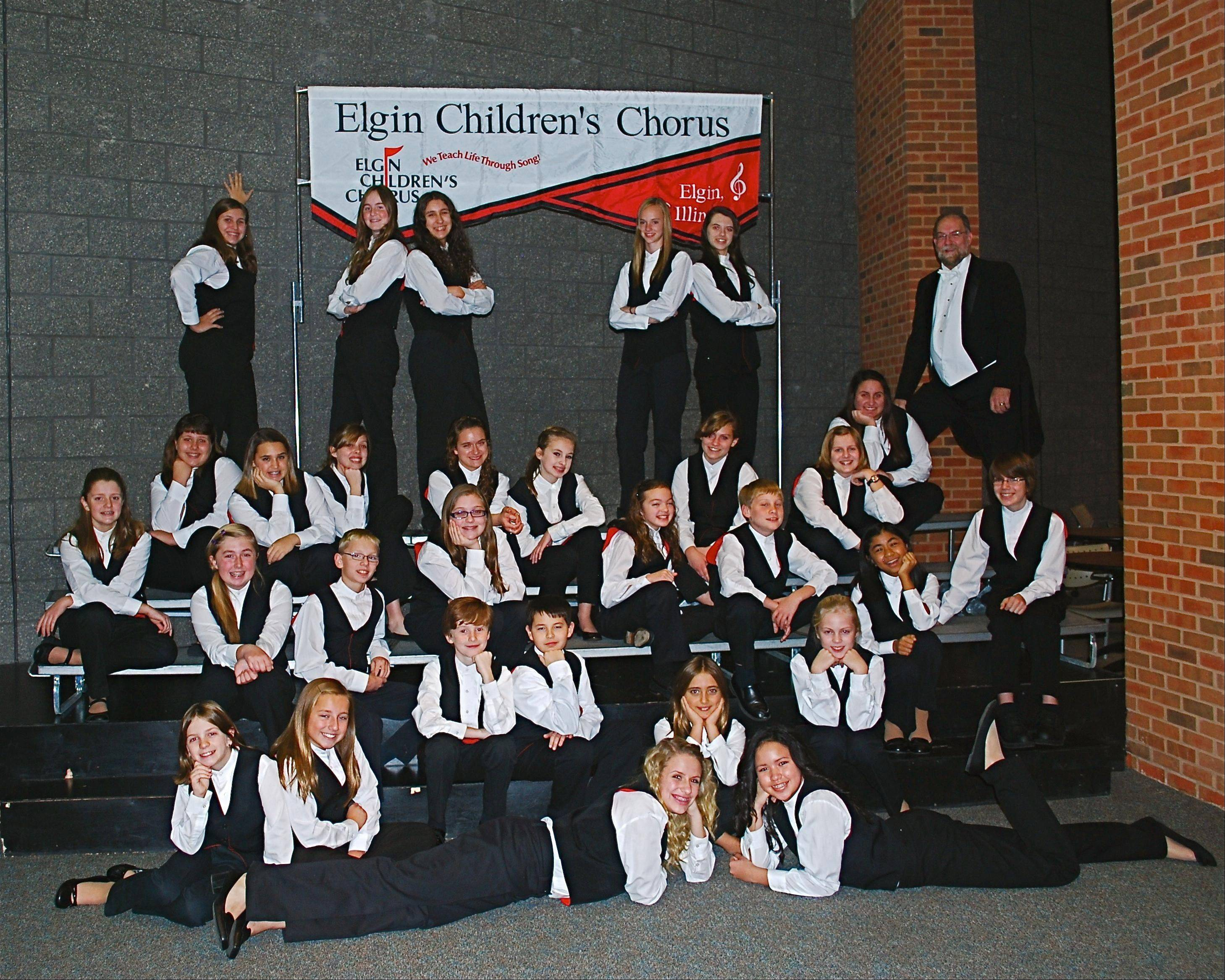 The Elgin Children's Chorus will hold auditions Dec. 17-18 for its Chamber Choir, Treble Choir, Concert Choir and Boys Ensemble. The Concert Choir also will perform this weekend with the Elgin Symphony Orchestra.