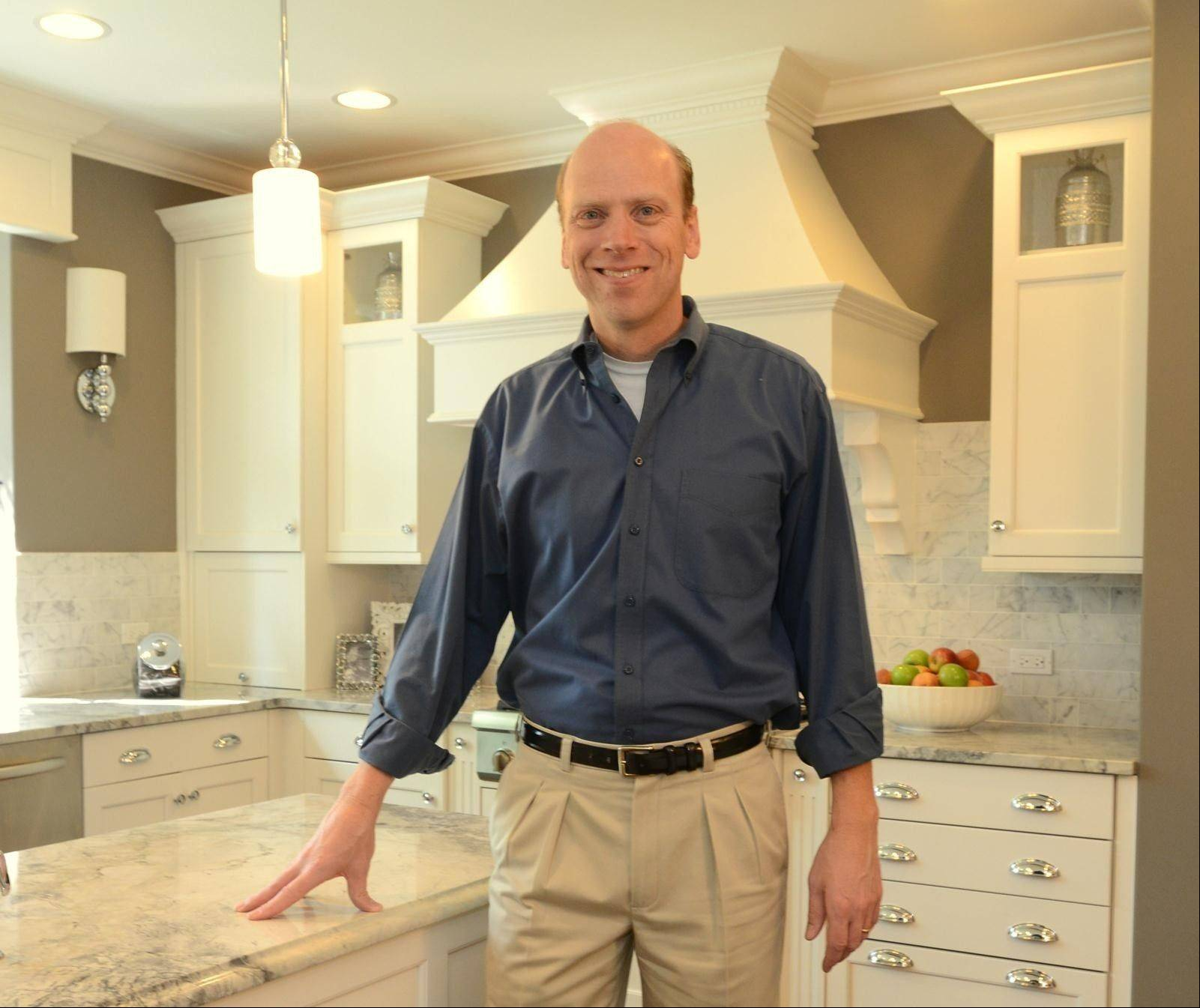 Architect David Wytmar, partner in Groundwork Ltd. of Buffalo Grove, recently designed kosher kitchens for neighbors in Skokie.