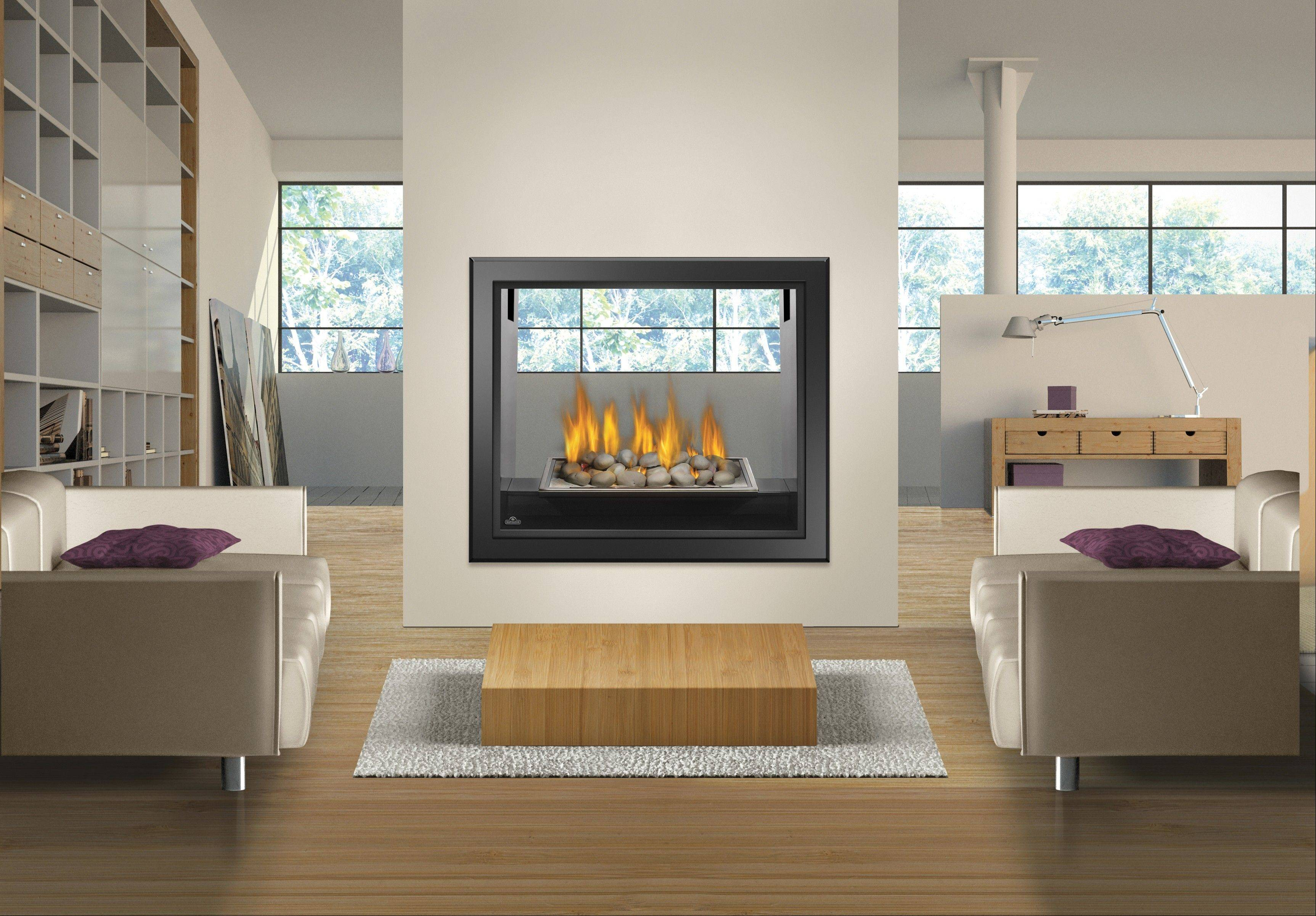 Fireplaces Plus offers FireStones, which are similar to gas logs, but provide a more contemporary feel to the fireplace.