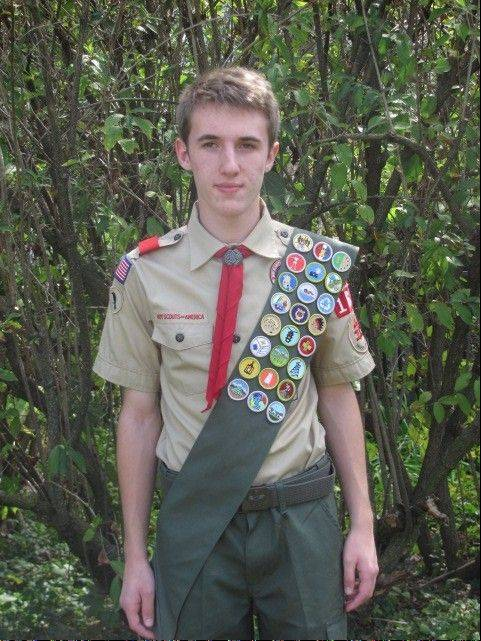 Eagle Scout Mark Rapala