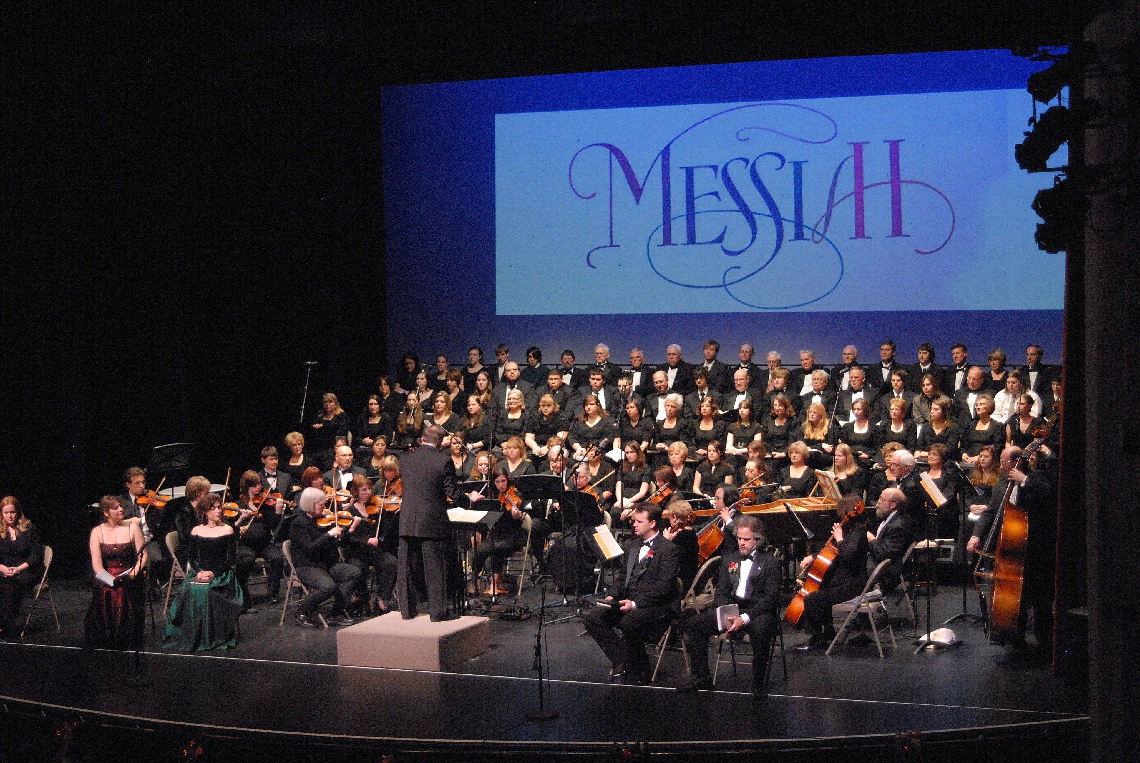 "Catch a ""Sing-Along Messiah"" with the choirs Voices in Harmony and McHenry County College Choir at the Raue Center for the Arts in Crystal Lake."