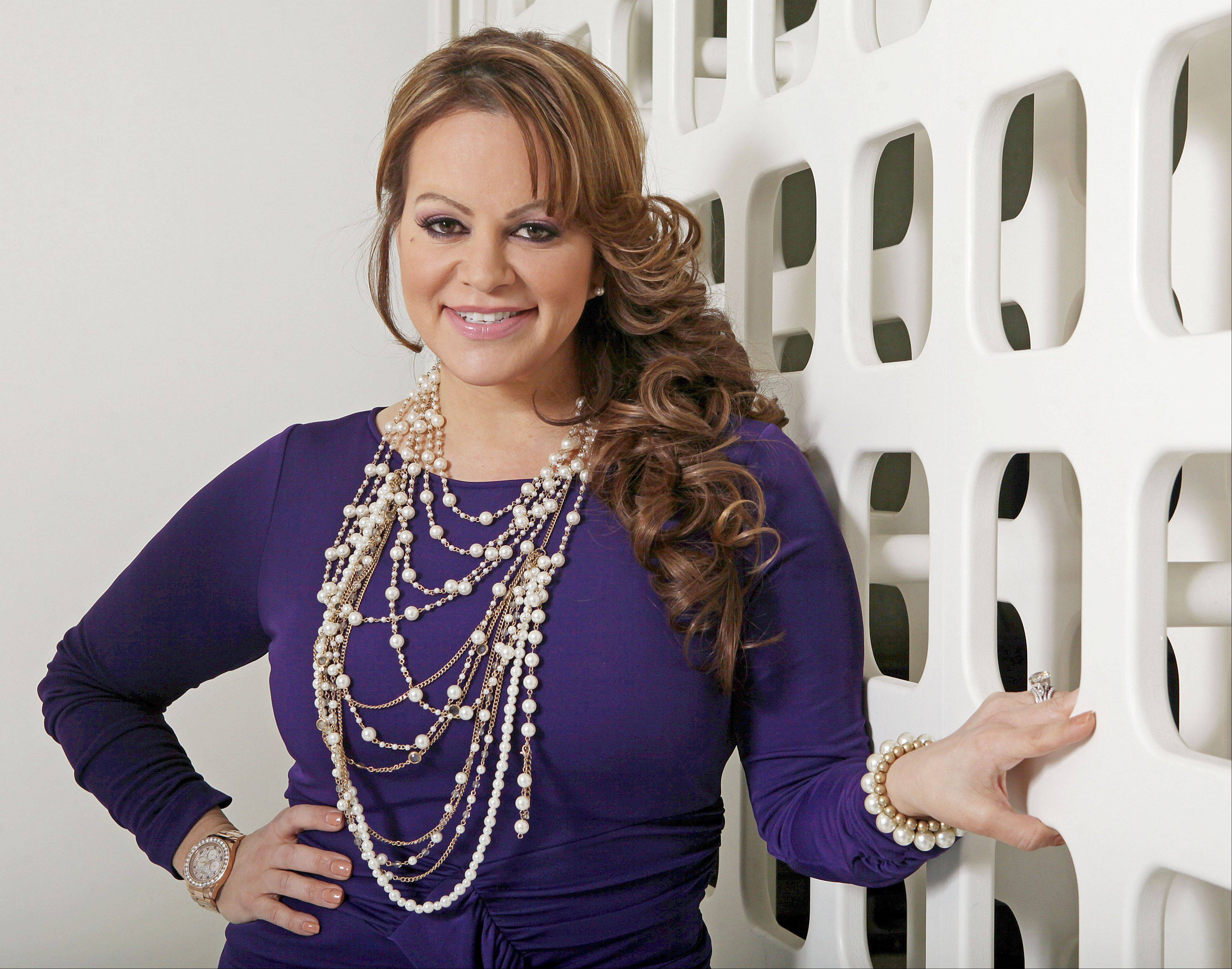 Mexican-American singer and reality TV star Jenni Rivera poses during an interview in Los Angeles. Mexican authorities confirmed the plane in which she was traveling disappeared early Sunday, after leaving the Mexican northern city of Monterrey where she performed in concert on Saturday night.