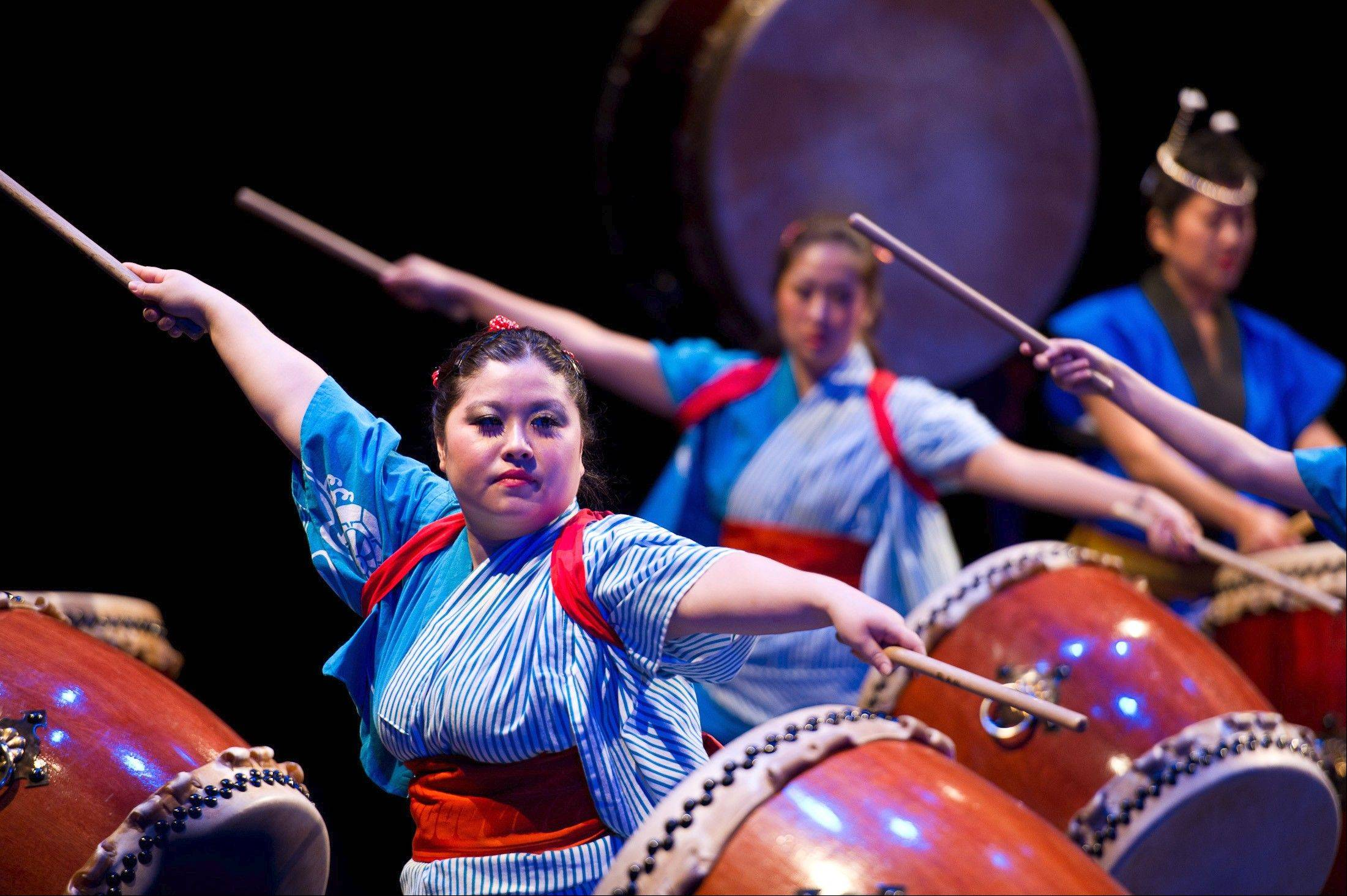 Thunderous drumming, jazz improvisations and dance are all part of the Taiko Legacy performances at the Museum of Contemporary Art in Chicago.