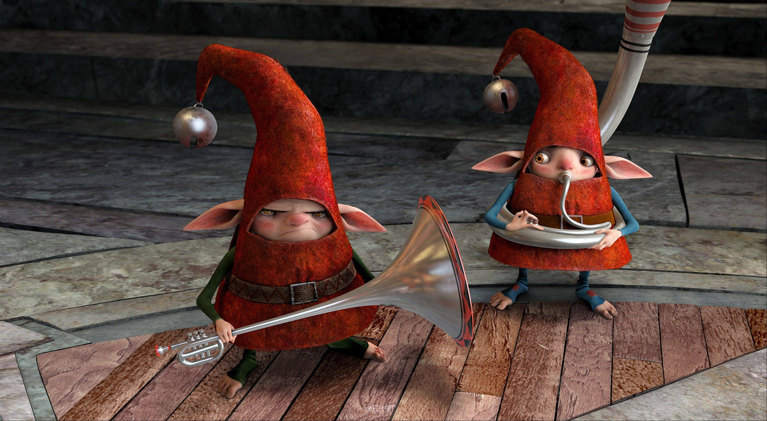 "The elves are North's loyal helpers in DreamWorks Animation's ""Rise of the Guardians,"" which came in just behind ""Skyfall"" at the box office."