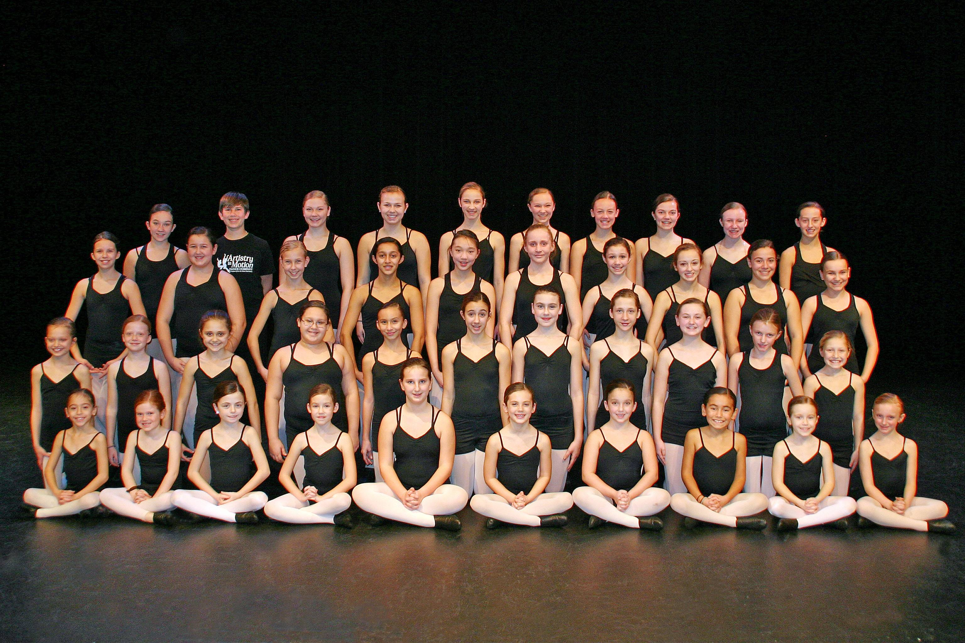 Artistry in Motion Dance Company 2012 prepares for their Winter Spectacular.