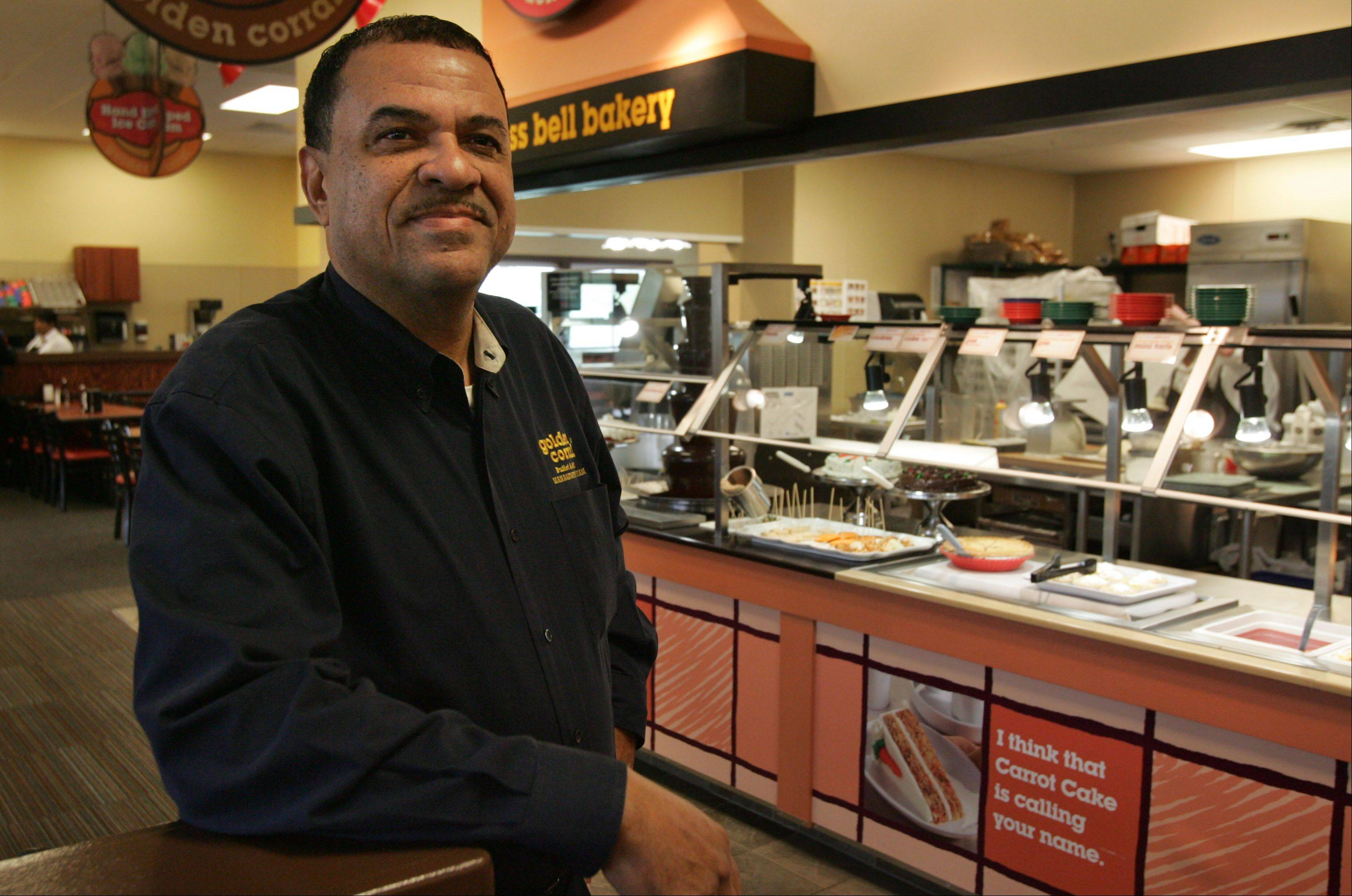 Samuel Gibson is the owner of Batavia's new Golden Corral restaurant, which opened last month.