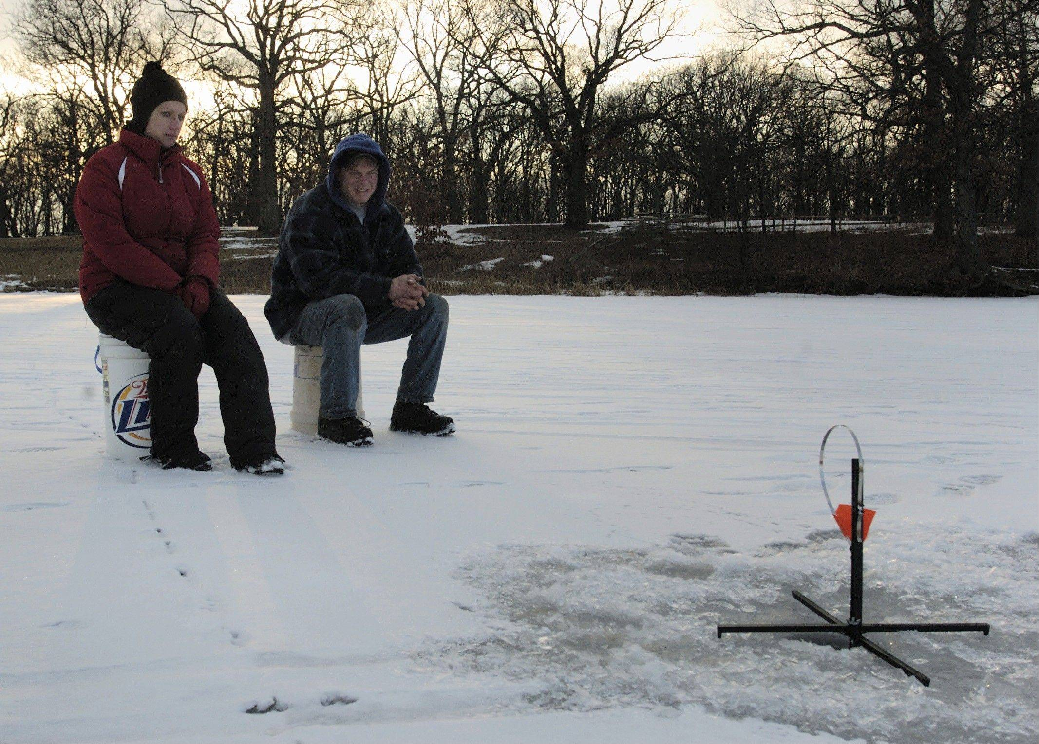 Ice-fishing fans can participate in the DuPage Forest Preserve District's Hard-Water Classic from noon to 3:30 p.m. Jan. 5 on Silver Lake at Blackwell Forest Preserve near Warrenville.