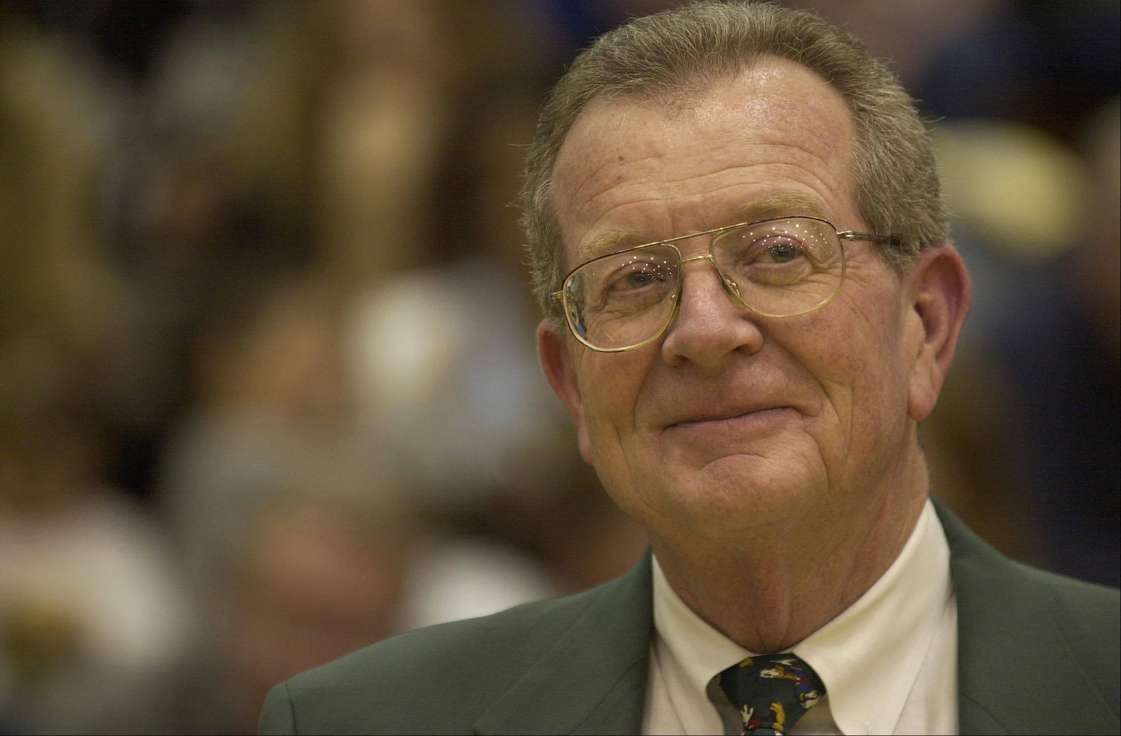 Mo Tharp is among the latest to gain admission into Fremd's Hall of Honor. He coached the Fremd boys basketball team to 472 wins.