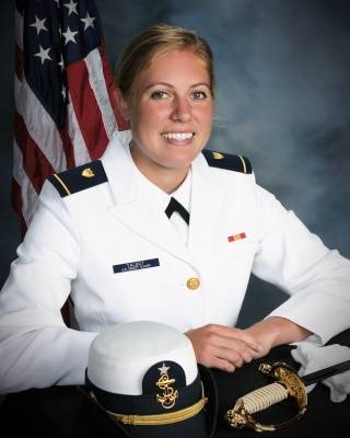 First Class Cadet Erin Talbot, United States Coast Guard Academy