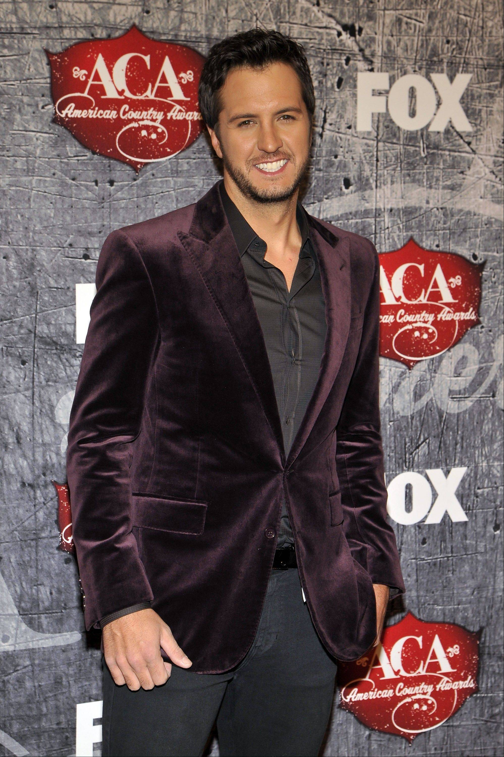 Singer Luke Bryan walked away with nine American Country Awards Monday.