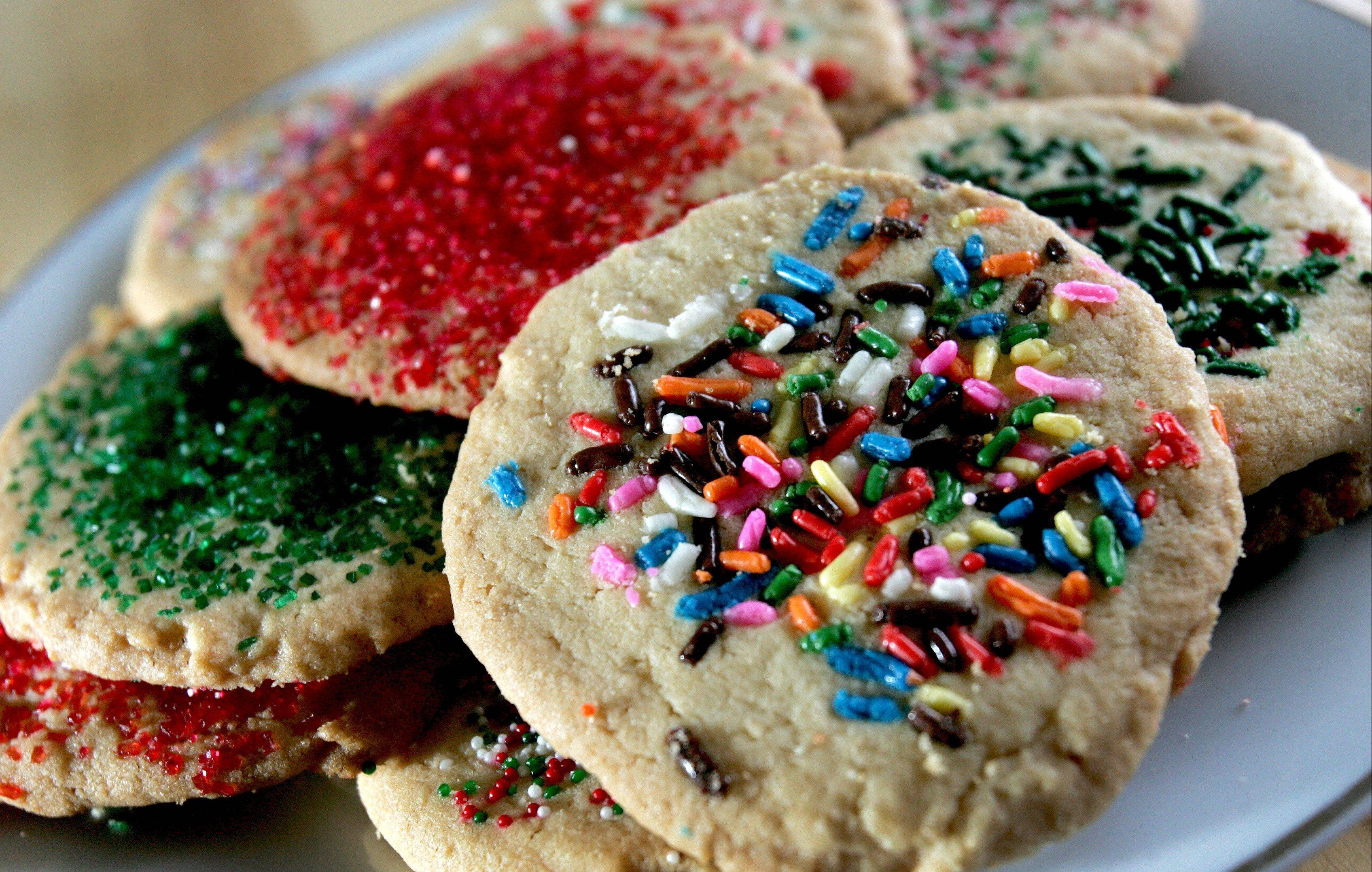 Two types of sugar go into Cook of the Week Judy Ibeling's Old-Fashion Sugar Cookies.