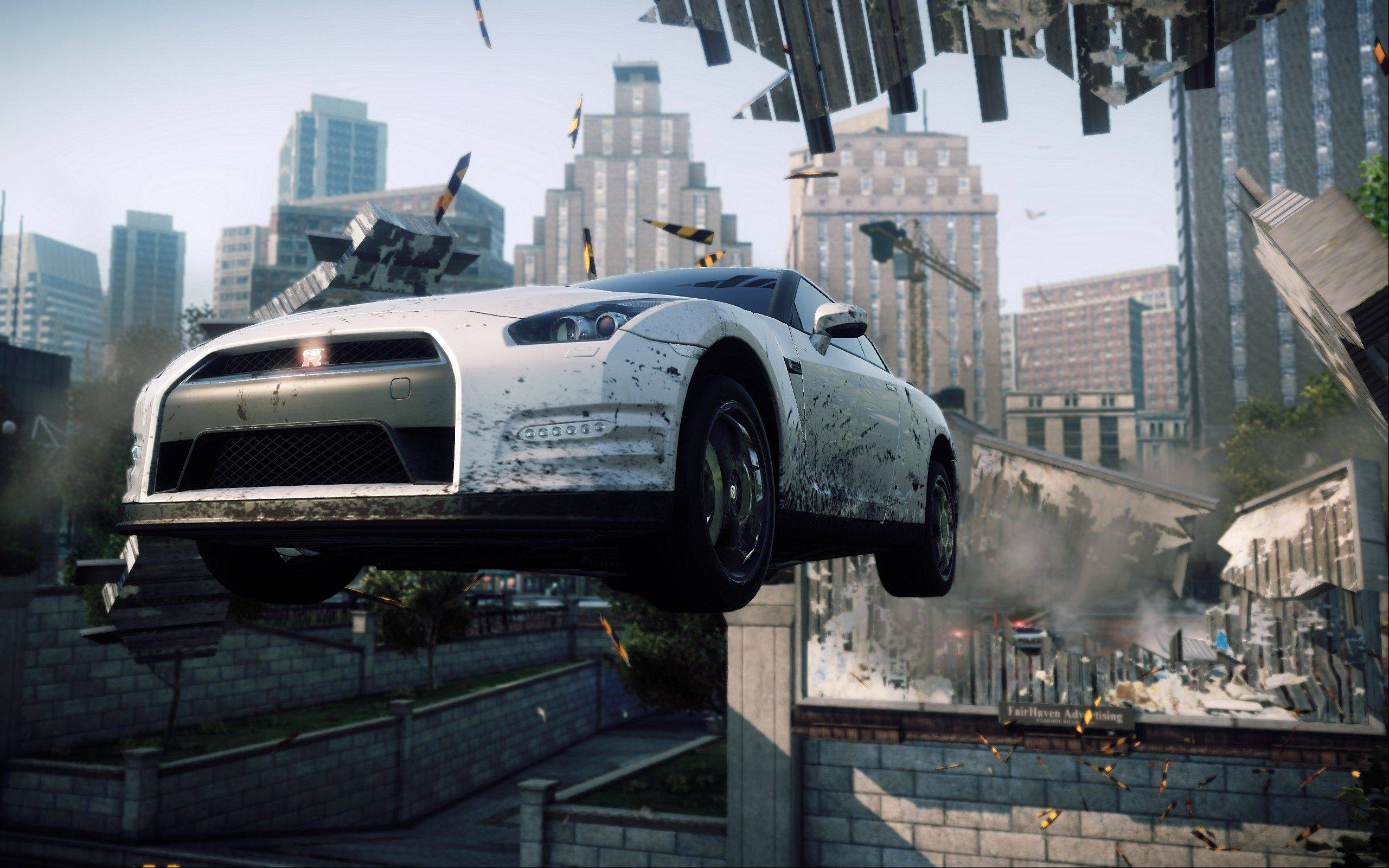 """Need for Speed: Most Wanted"" is the most gleefully irresponsible of this year's racing games."