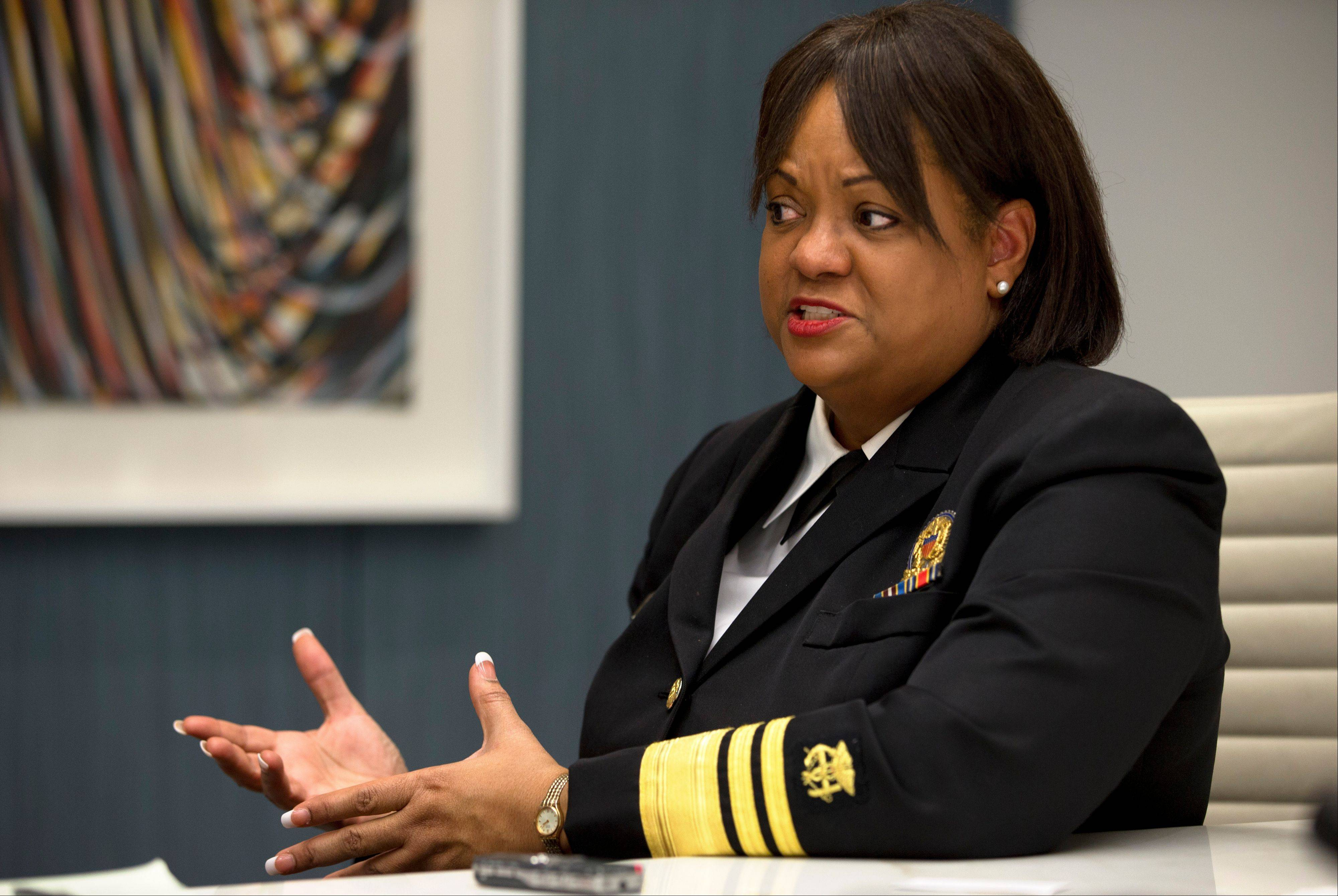 Associated PressRegina Benjamin, Surgeon General of the United States, is interviewed Wednesday after speaking about health disparities in Washington. African-American women have the highest rate of obesity of any group of Americans. Four out of five black women have a body mass index above 25 percent, the threshold for being overweight or obese, according to the Centers for Disease Control and Prevention.