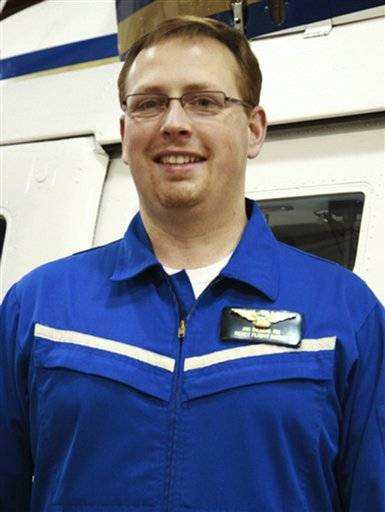 Flight nurse Jim Dillow, 40. Dillow was one of three people killed when a Rockford Medical Center REACT helicopter crashed Monday night, Dec. 10, 2012, in a field near Rochelle, Ill., while traveling between two northern Illinois hospitals.