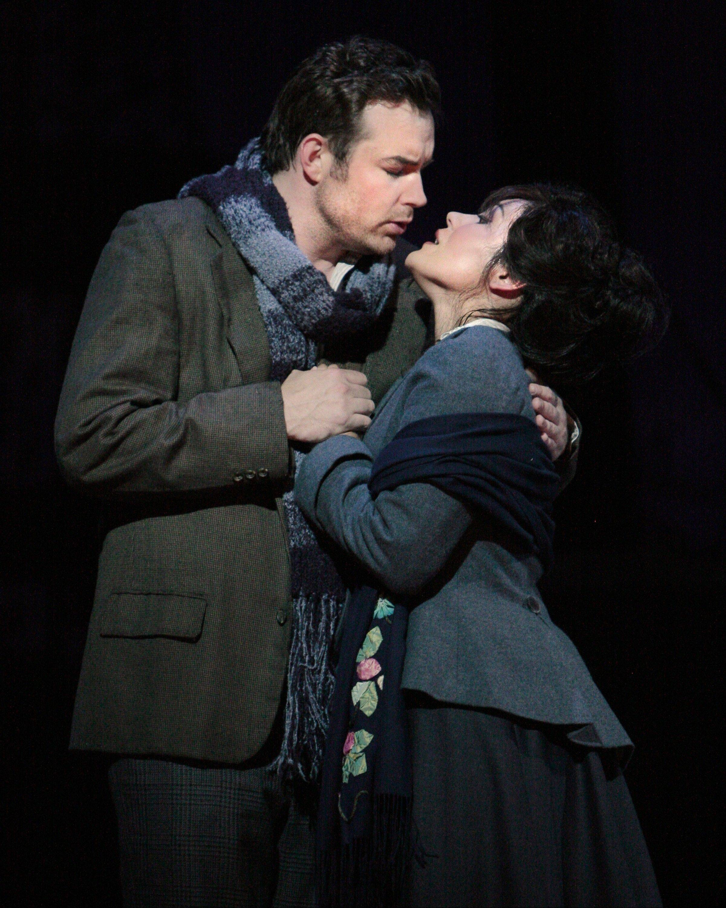 "Elk Grove High School graduate Ailyn Perez sings with her husband Stephen Costello in the opera ""La Boheme."" The couple will be featured during a PBS broadcast of ""Live From Lincoln Center"" Thursday night."