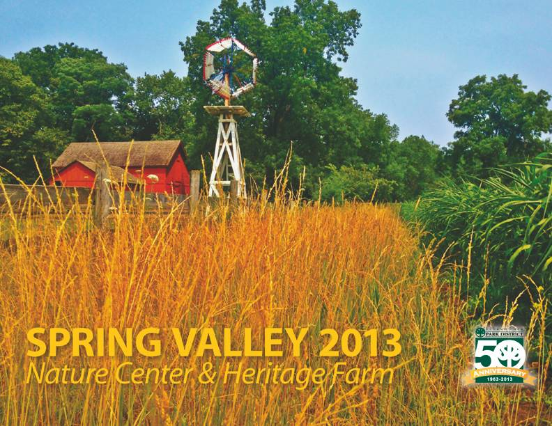 Spring Valley 2013 Calendar Cover