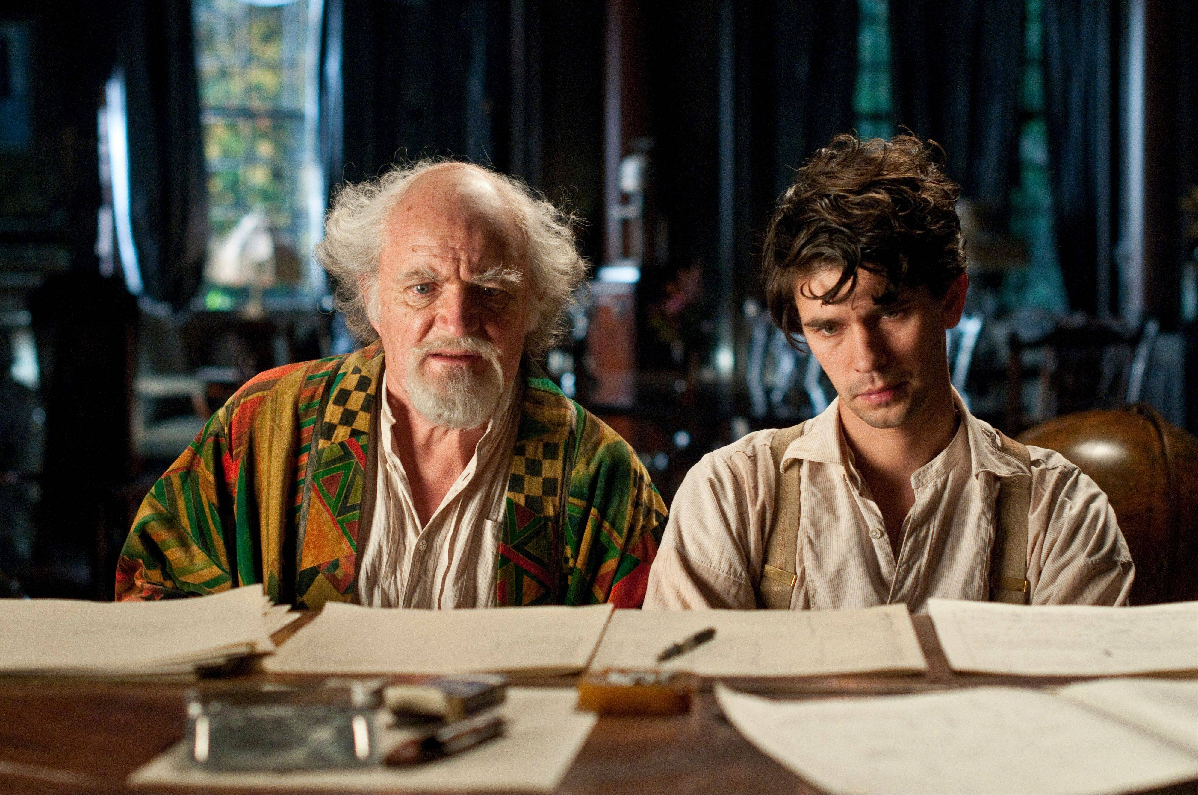 "Join Waterline Writers on Sunday, Dec. 16, and hear Ryan Eakins discuss in his role in the epic movie, ""Cloud Atlas,"" starring Jim Broadbent, left, and Ben Whislaw."
