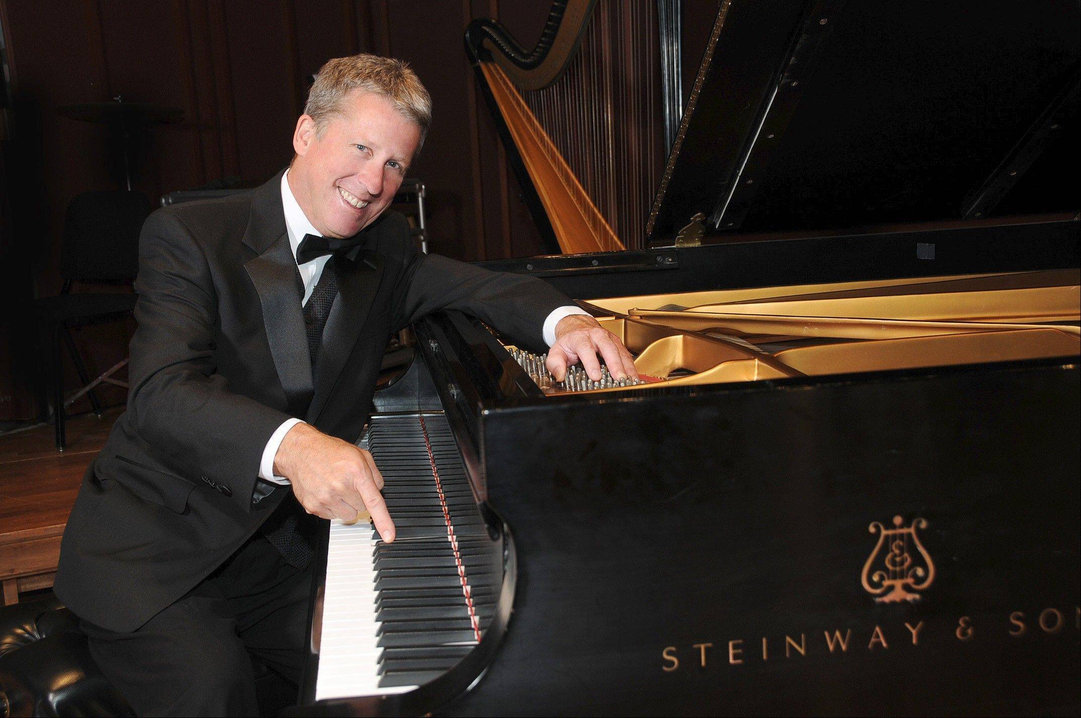 Pianist and audience favorite Rich Ridenour returns to perform with the Elgin Symphony Orchestra on Dec. 15-16.