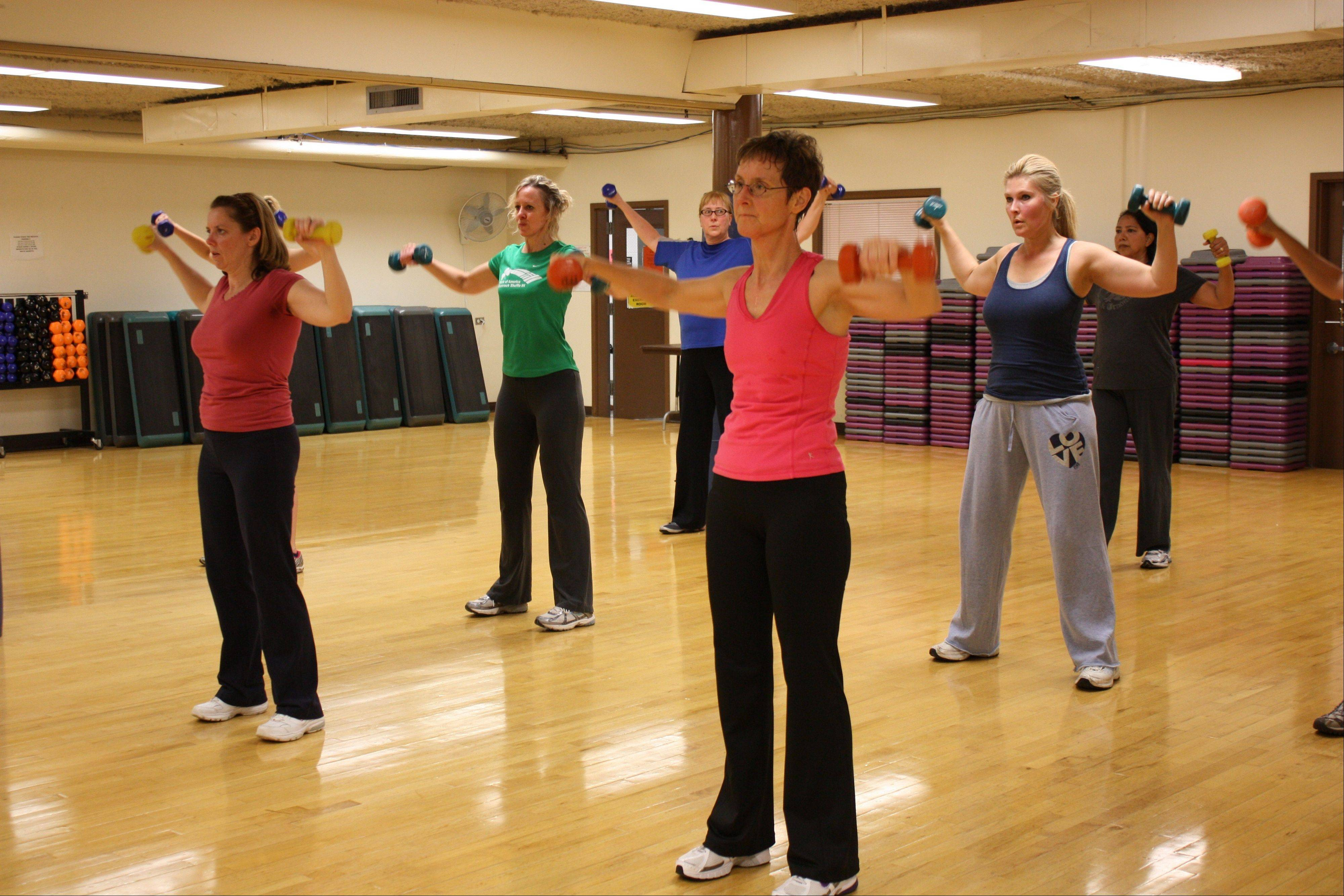 The Palatine Park District offers a variety of fitness classes and programs throughout the year. For a complete listing visit palatineparks.org.